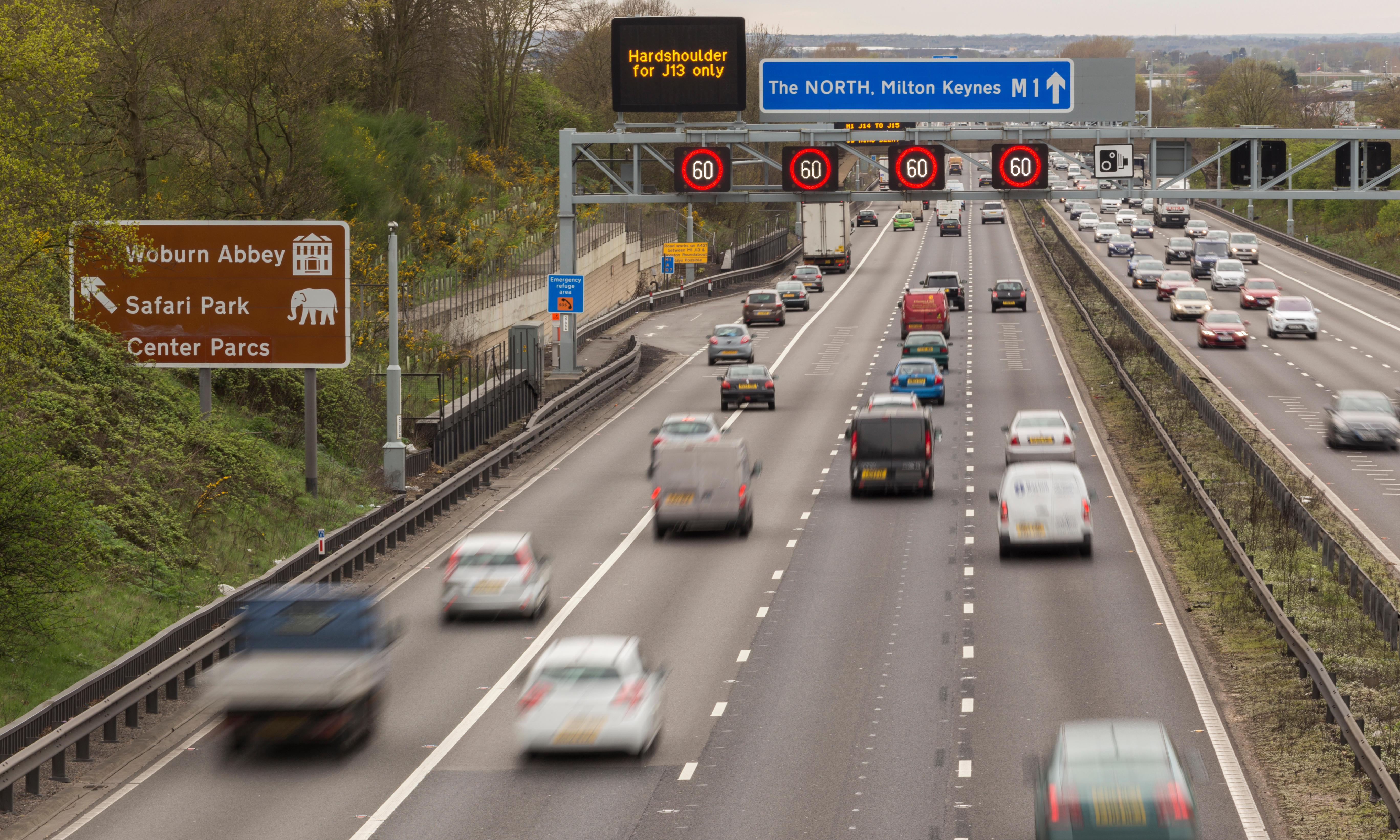 UK's smart motorways to be reviewed after huge rise in near-misses
