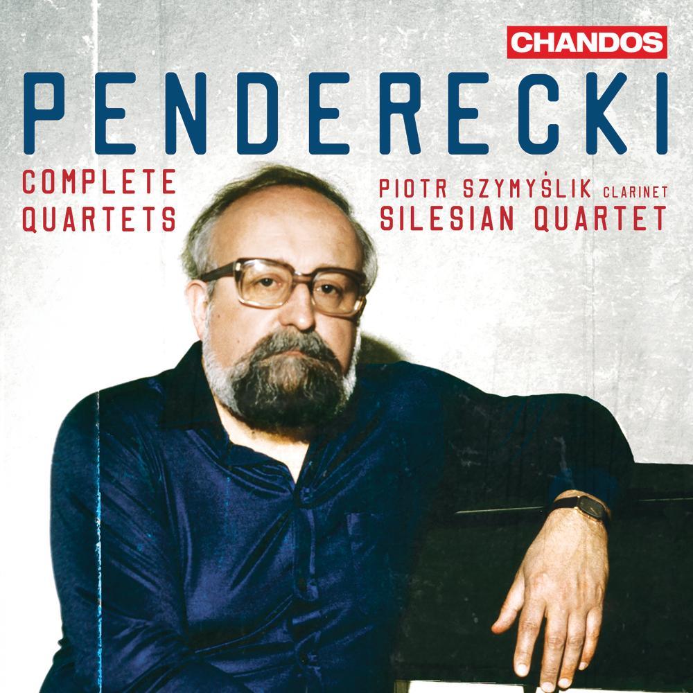 Penderecki: Complete Quartets album cover.