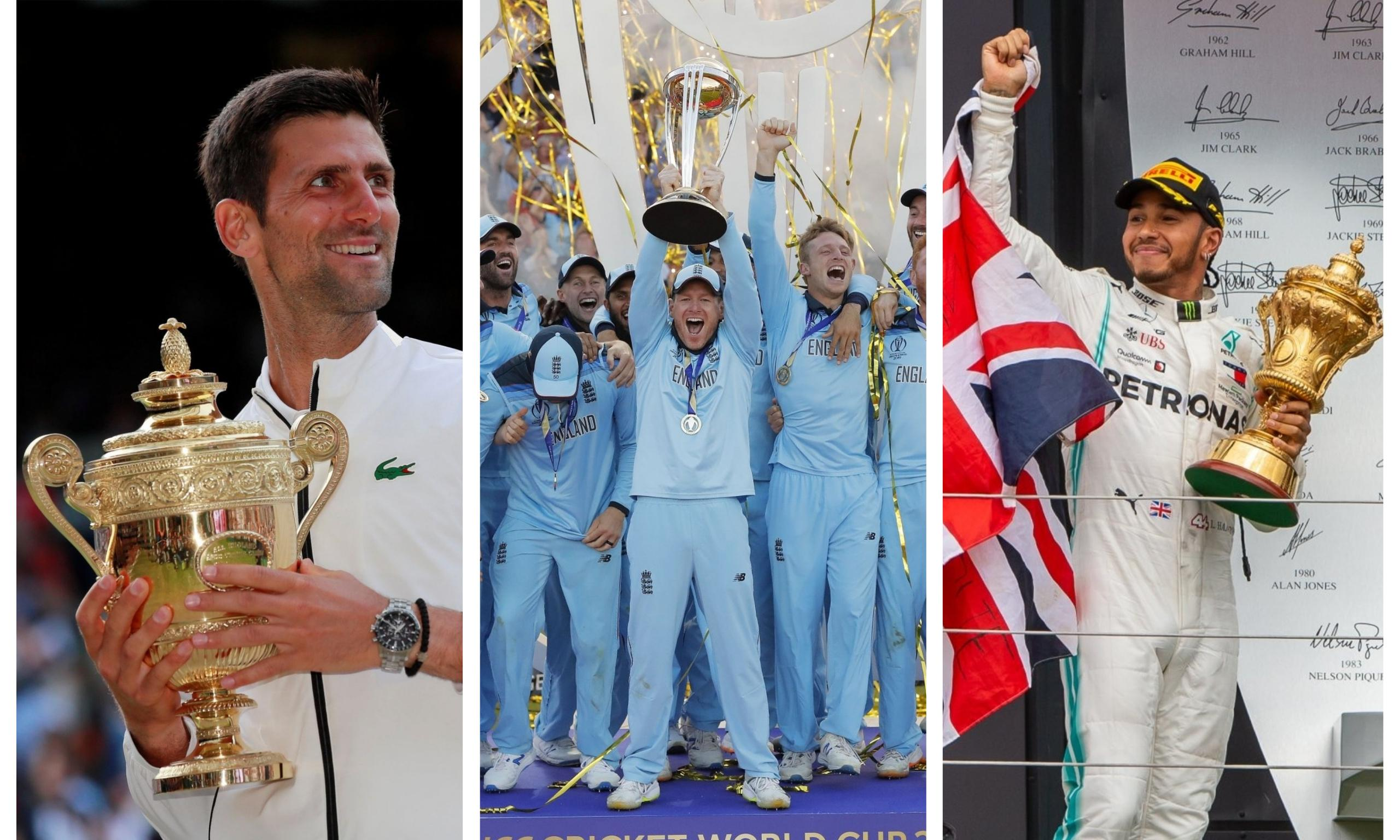 A golden sporting Sunday to make Britain appreciate its better self
