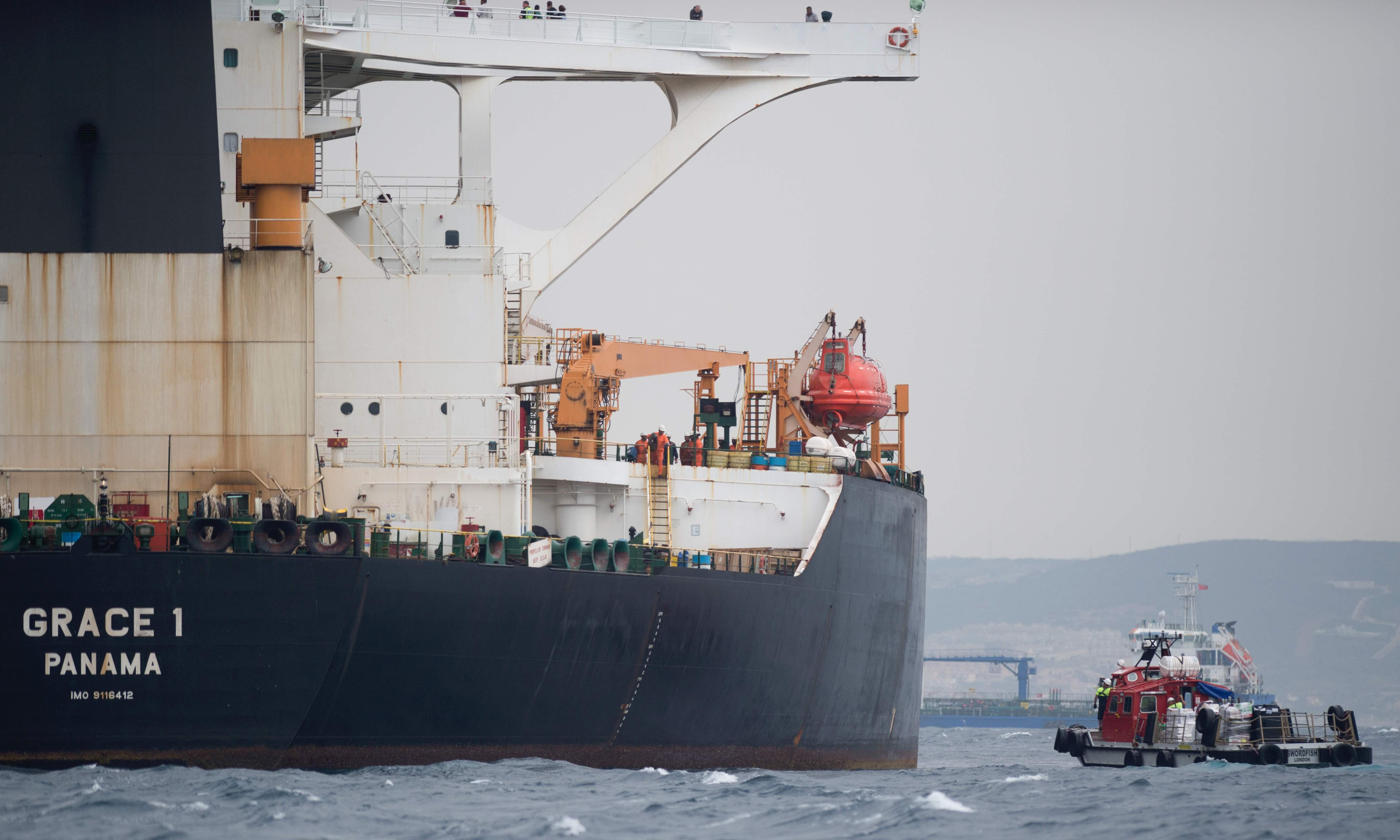 UK may help release Iranian oil tanker if it gets Syria guarantee