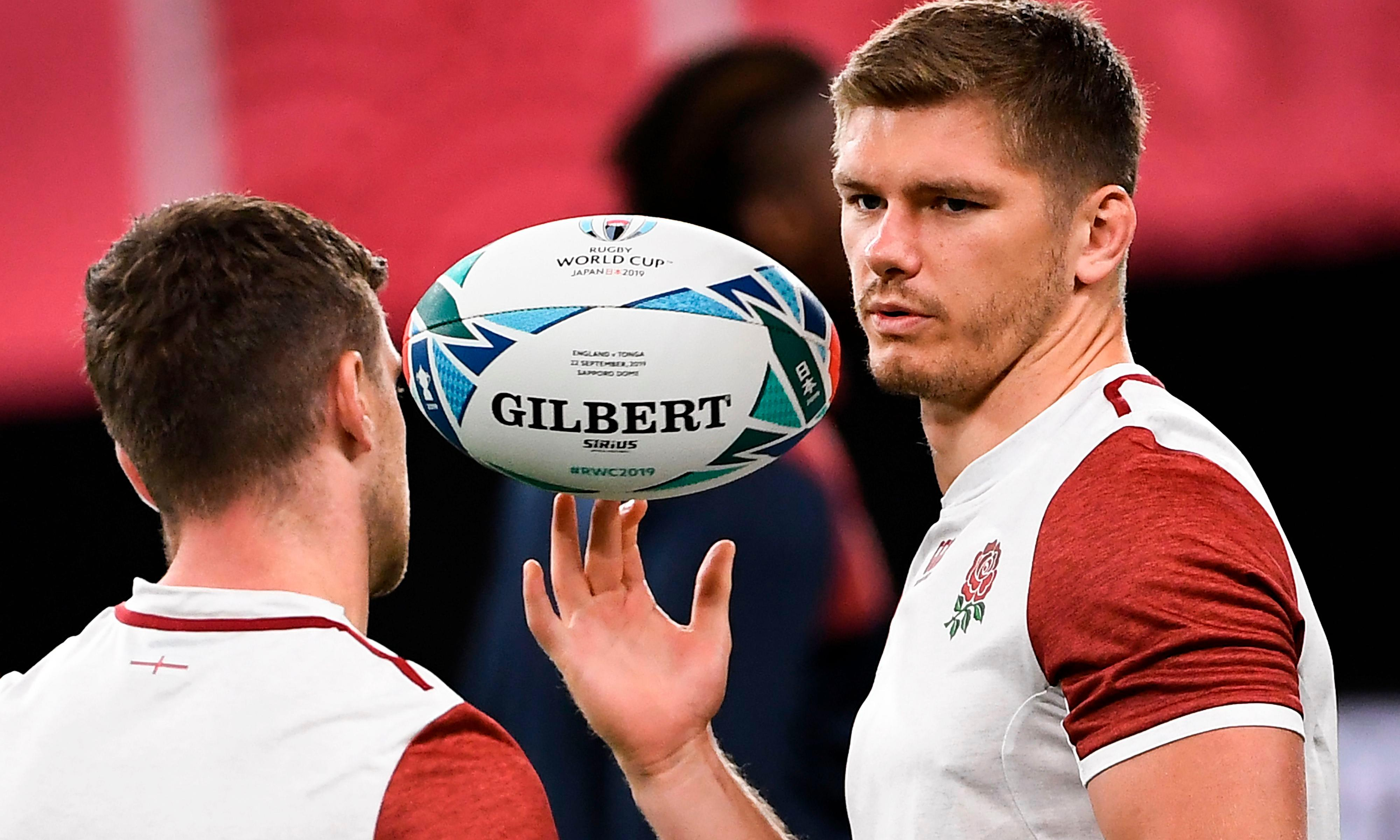 Ford, Farrell named as England go strong for World Cup opener