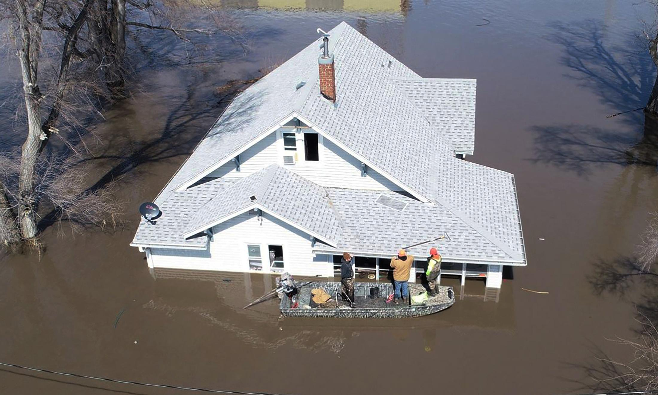'Potentially historic' flooding may deluge parts of US south, experts warn