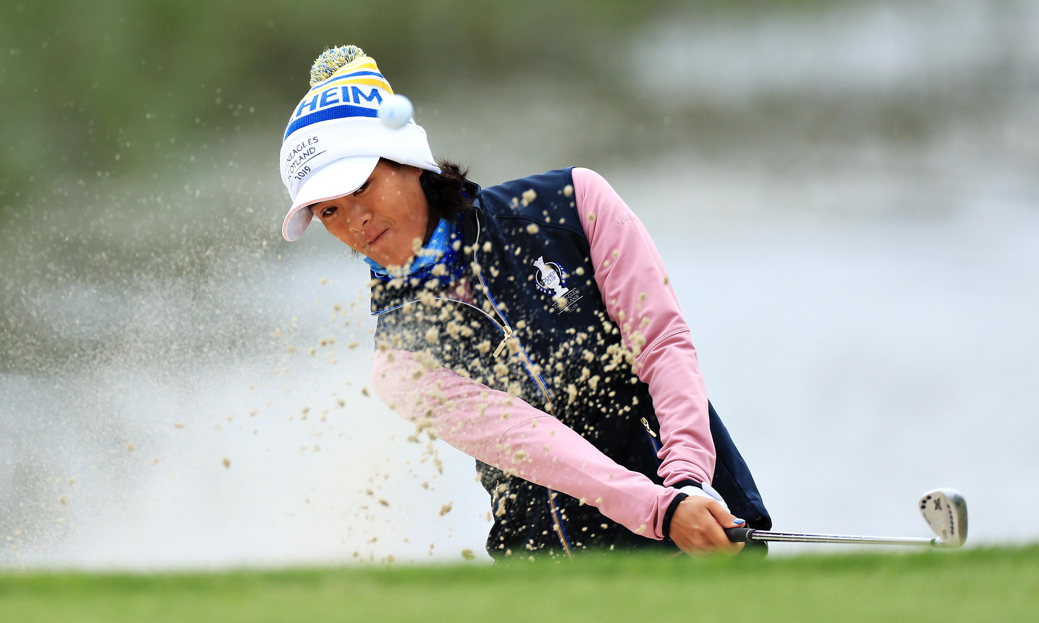 Europe stay level-headed as Hall and Boutier dig deep in Solheim Cup