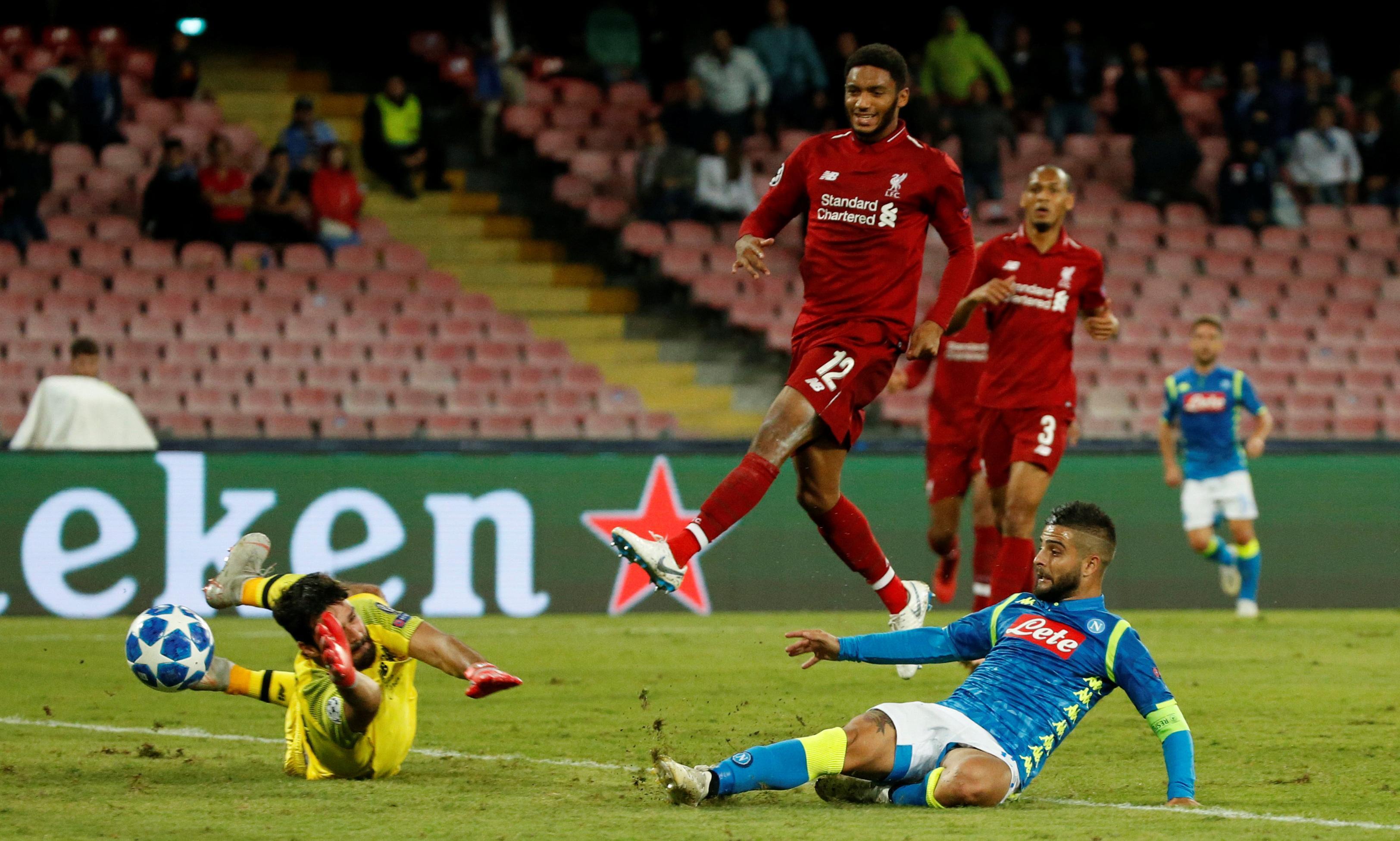 Jürgen Klopp's Liverpool land in Italy intent on defending their crown