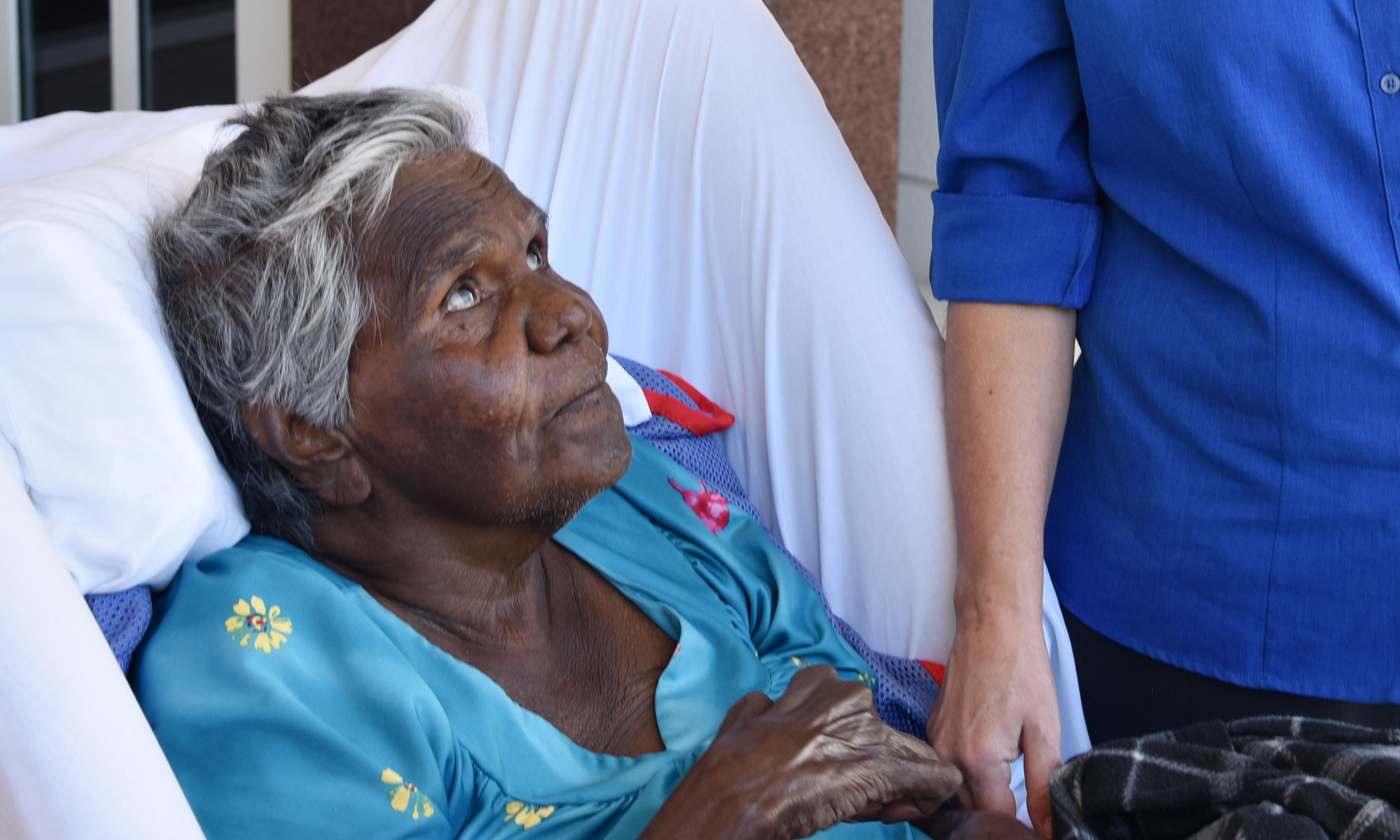 'My heart is crying': Indigenous elders face death far from home amid aged care shortages