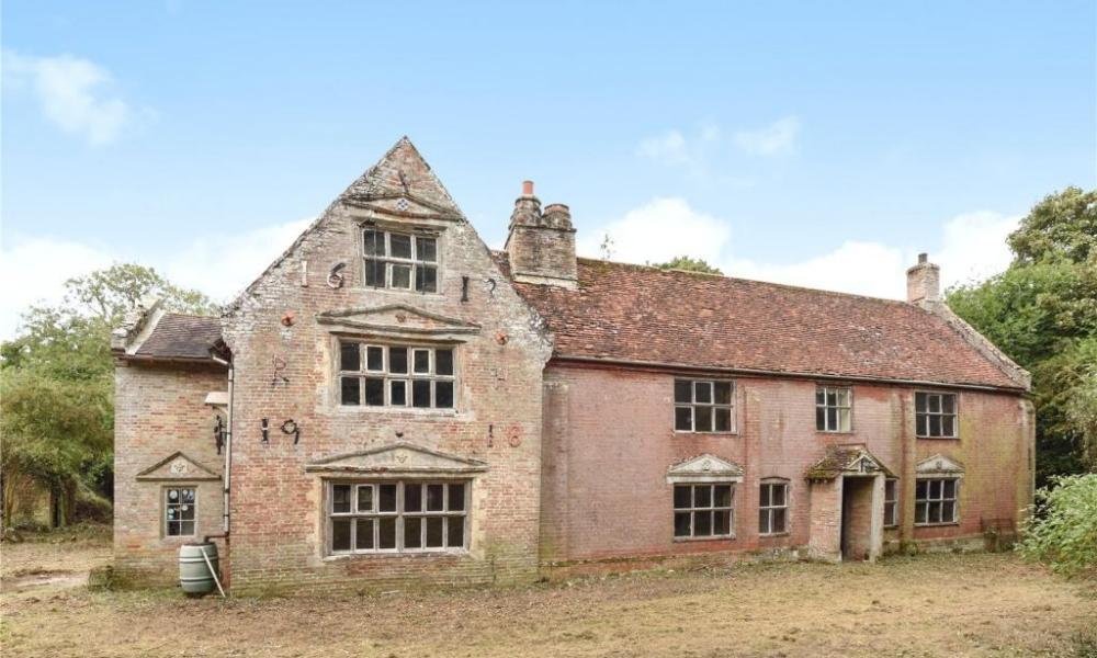 House in Suffolk, ninth most-viewed house on Rightmove in 2016