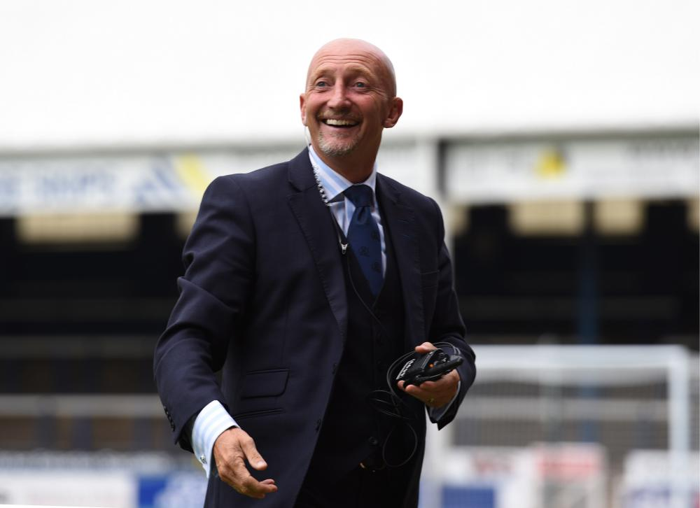 QPR manager Ian Holloway during a pre-season friendly against Peterborough United.