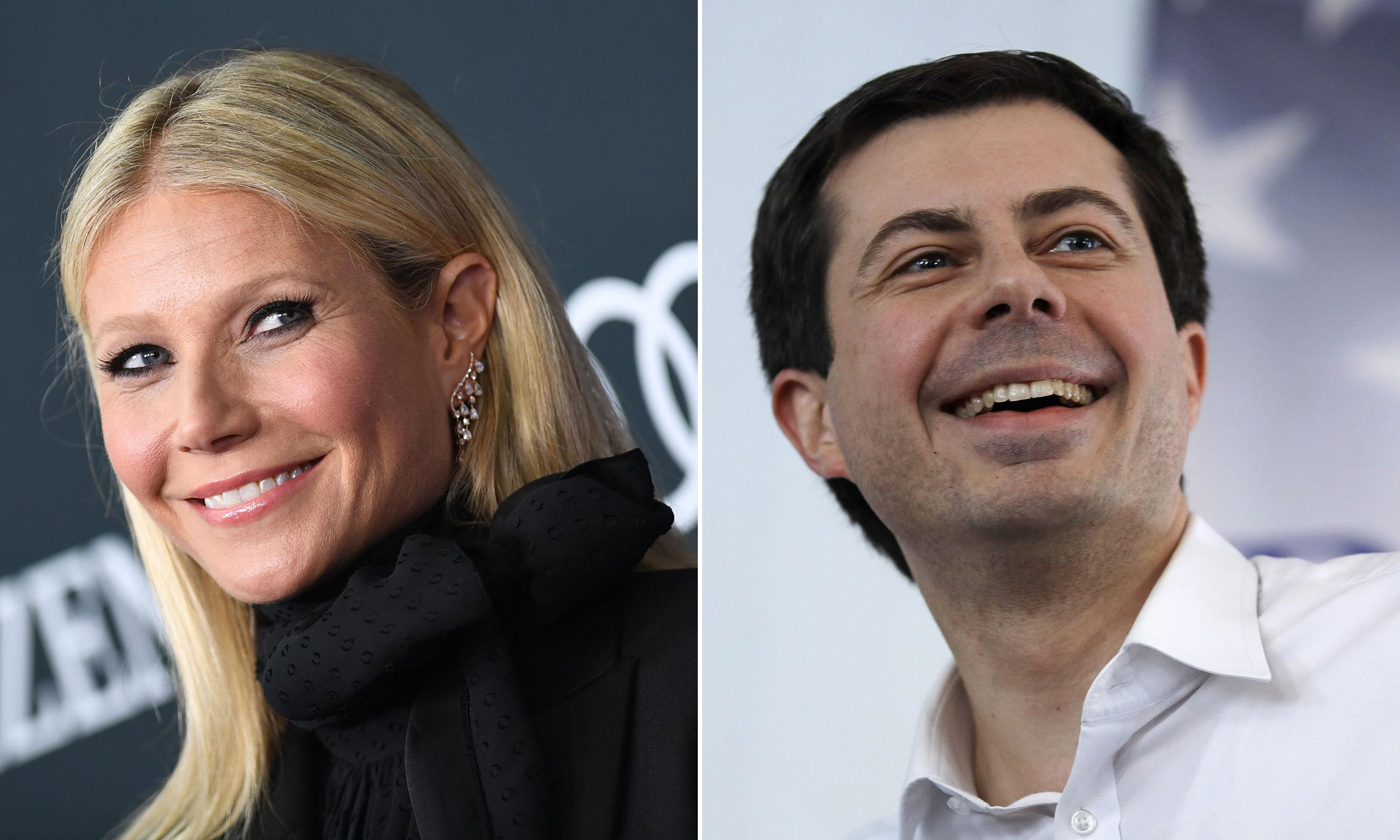 Gwyneth Paltrow and Pete Buttigieg: a match made in intellectual hell