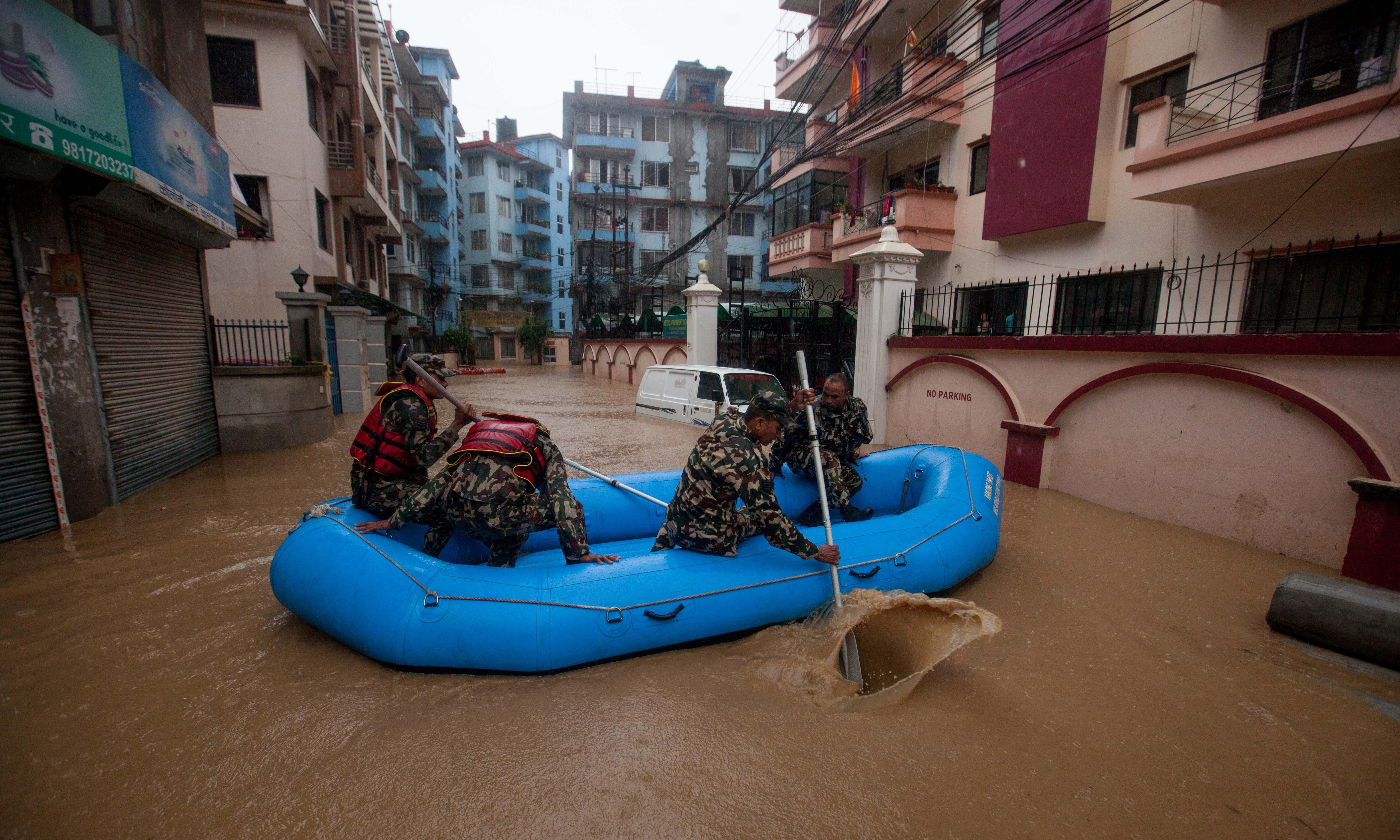 Death toll from floods in south Asia rises to more than 100