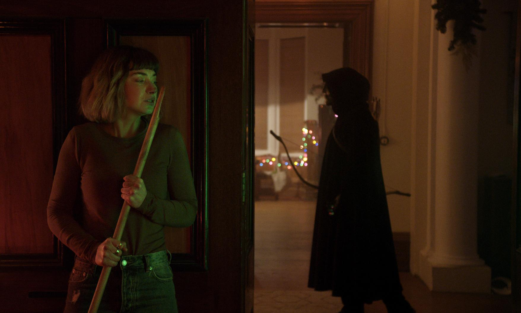 Black Christmas review – woke slasher remake is an unholy, unscary mess