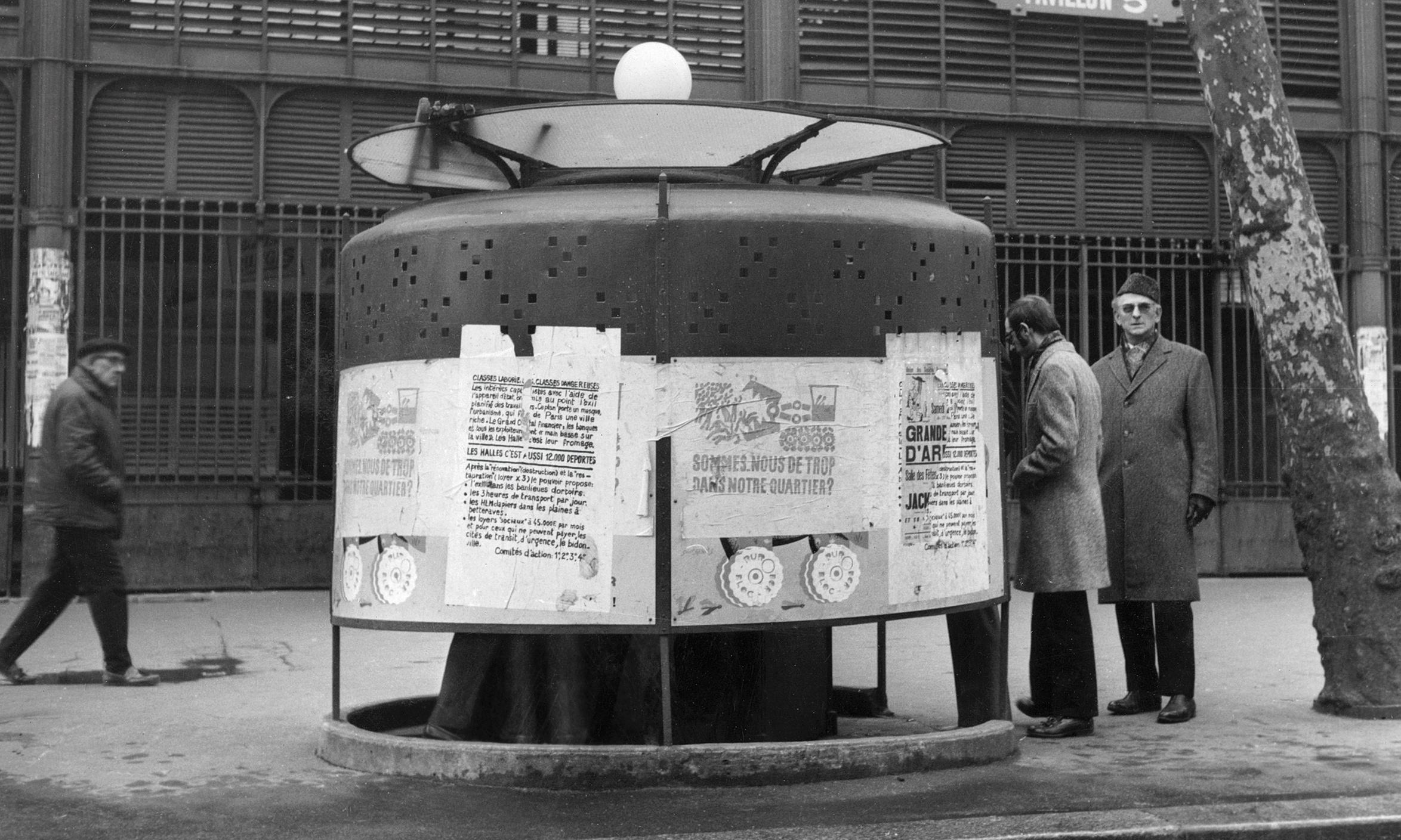 War and pissoirs: how the urinals of Paris helped beat the Nazis