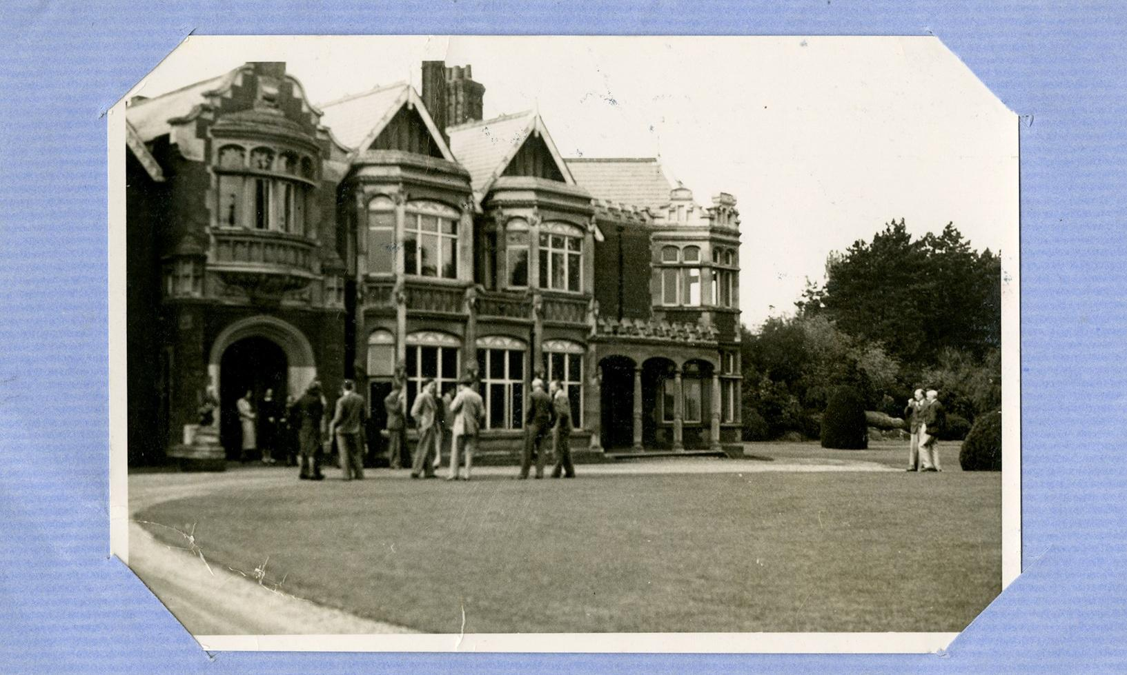 Top-secret Christmas card sent to Bletchley Park codebreakers rediscovered