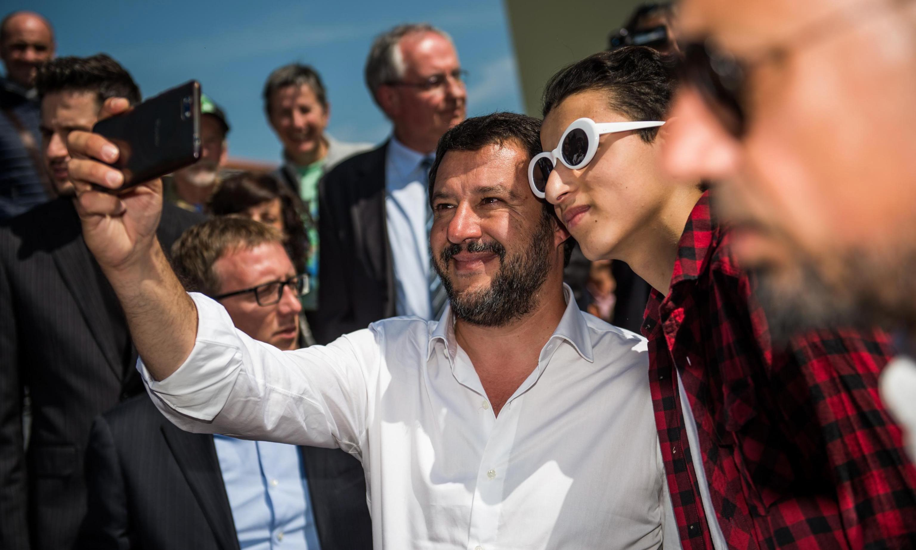 Italy's Matteo Salvini investigated over use of police aircraft