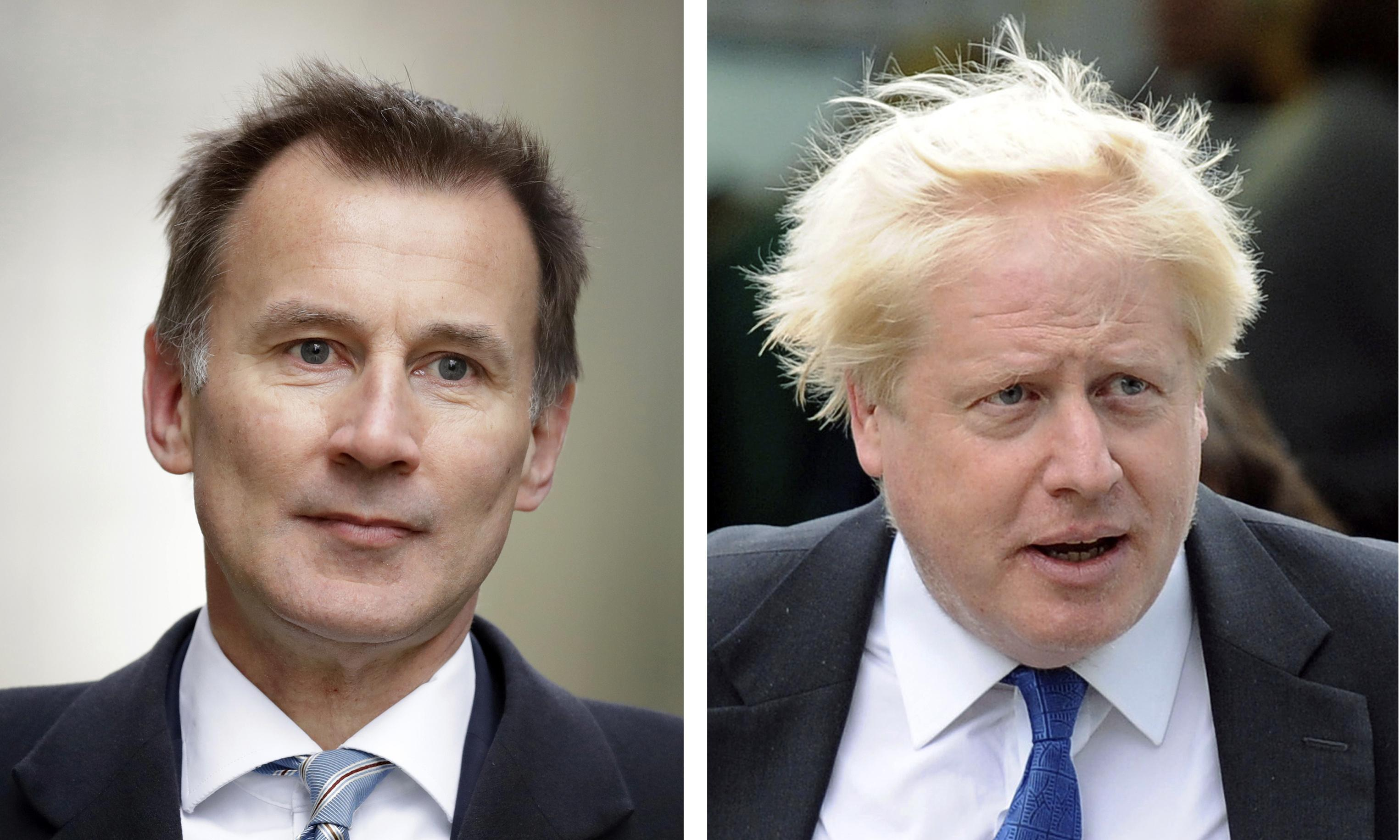 Hunt and Johnson are wildly different, but it's the latter who can deliver Brexit