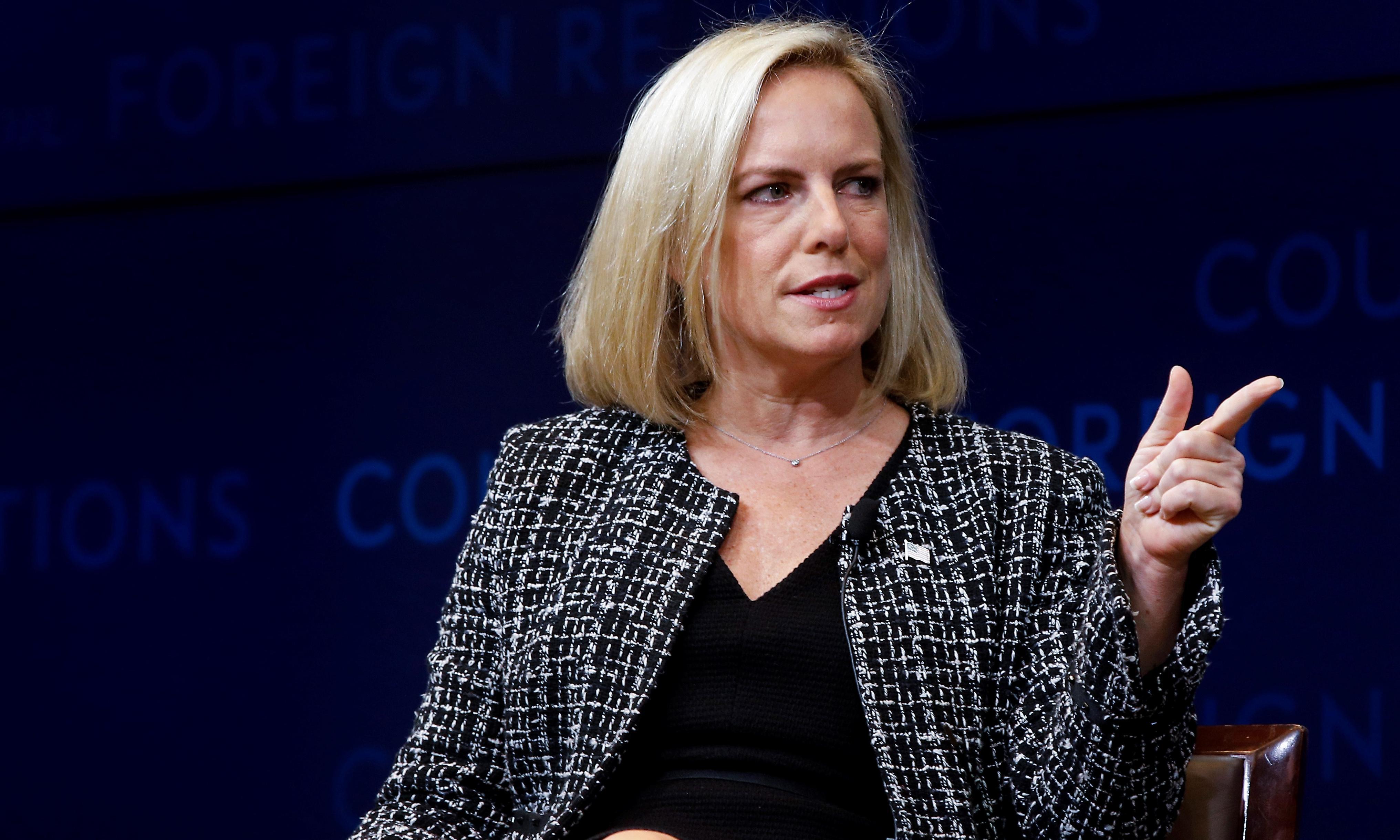 'I don't regret enforcing the law': Nielsen defends family separation at summit