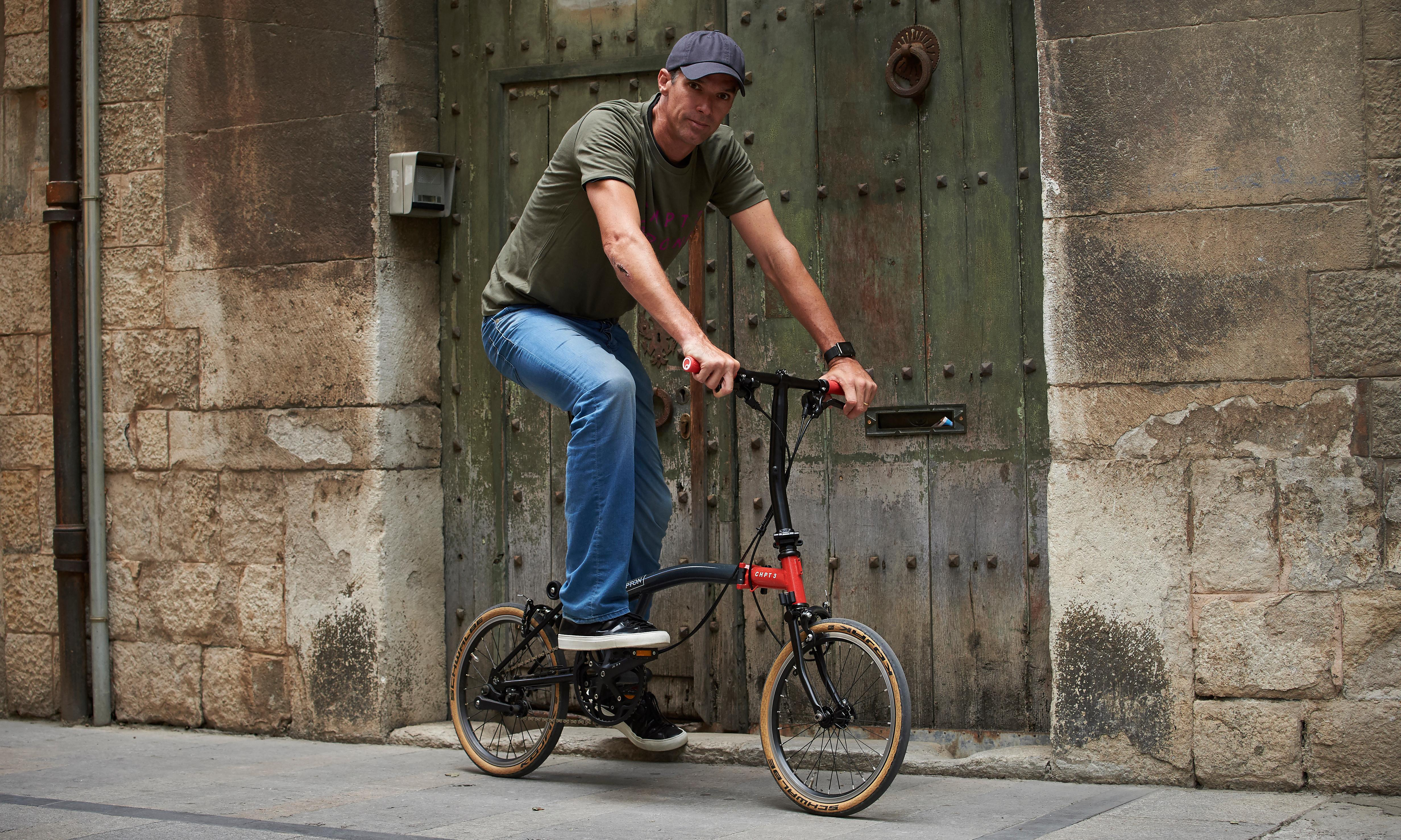Brompton x CHPT3: 'A folding bike that will appeal even to ex-pro racers'