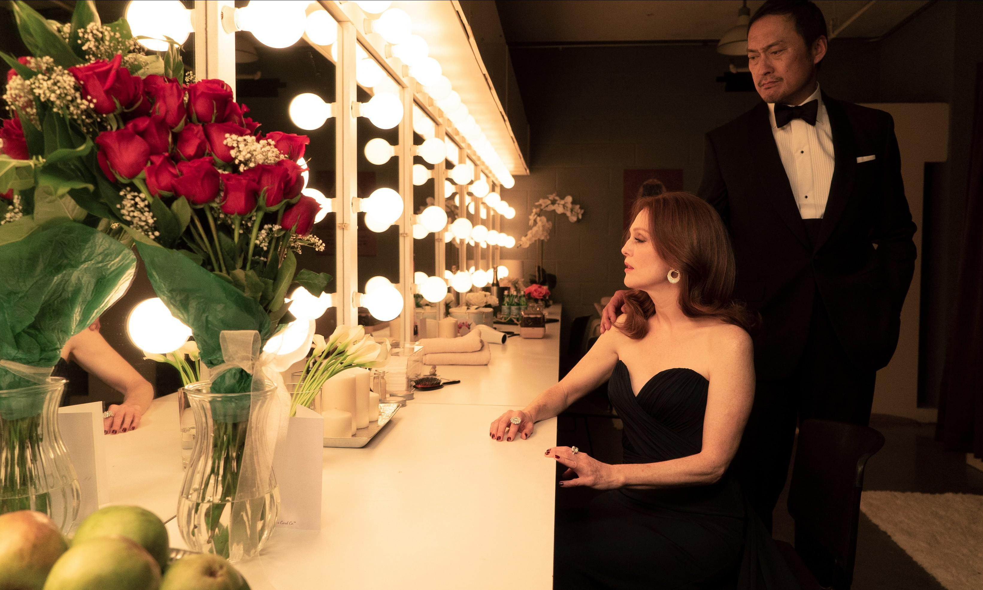 Bel Canto review – Julianne Moore trills as opera star in hostage drama