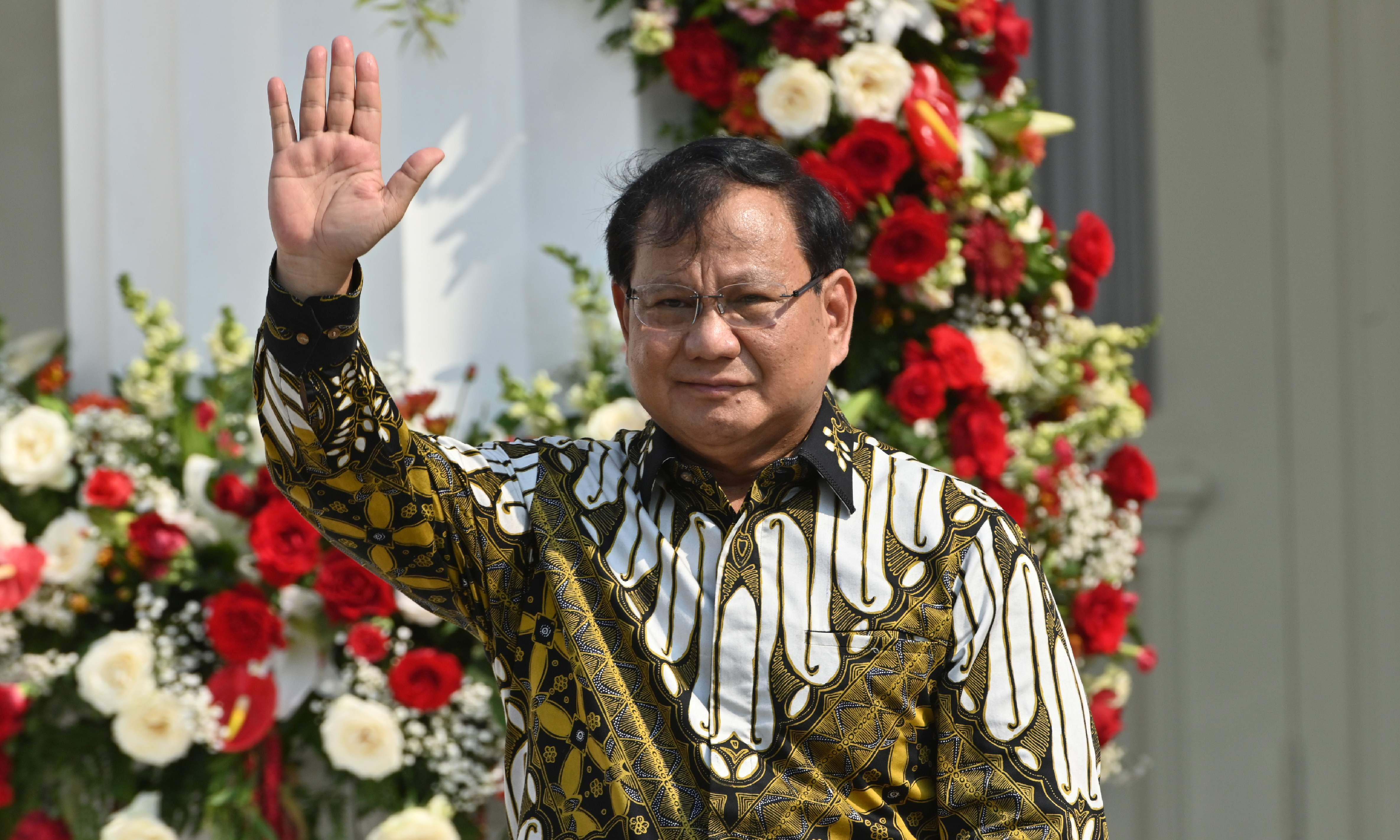 'Dark day for human rights': Subianto named as Indonesia's defence minister