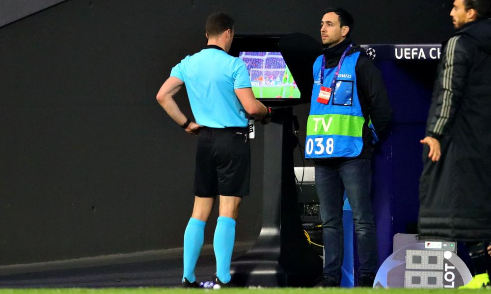 VAR was used at Atlético Madrid's game against Juventus to reverse a penalty decision and disallow a goal.