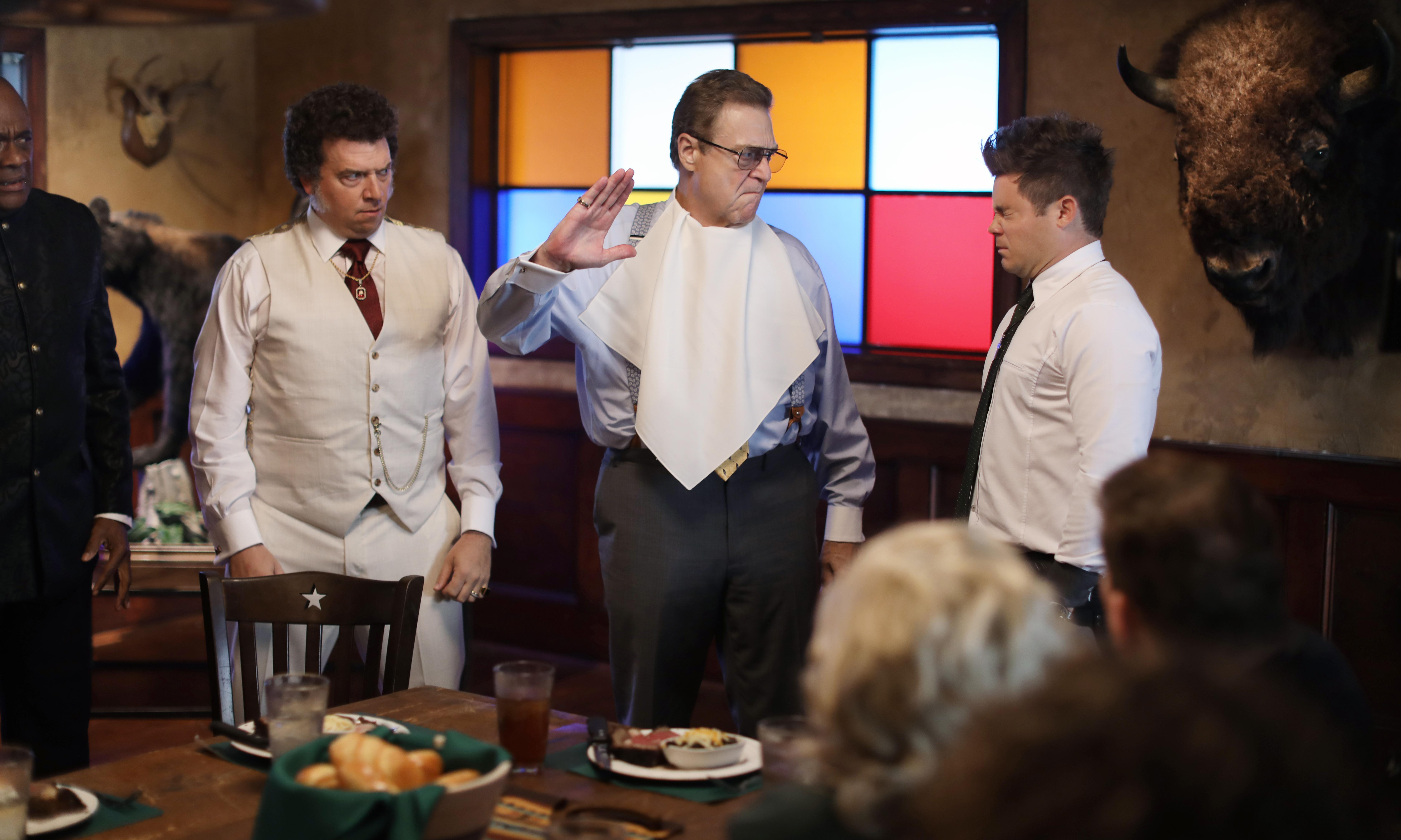 TV tonight: Danny McBride and John Goodman take on the televangelists