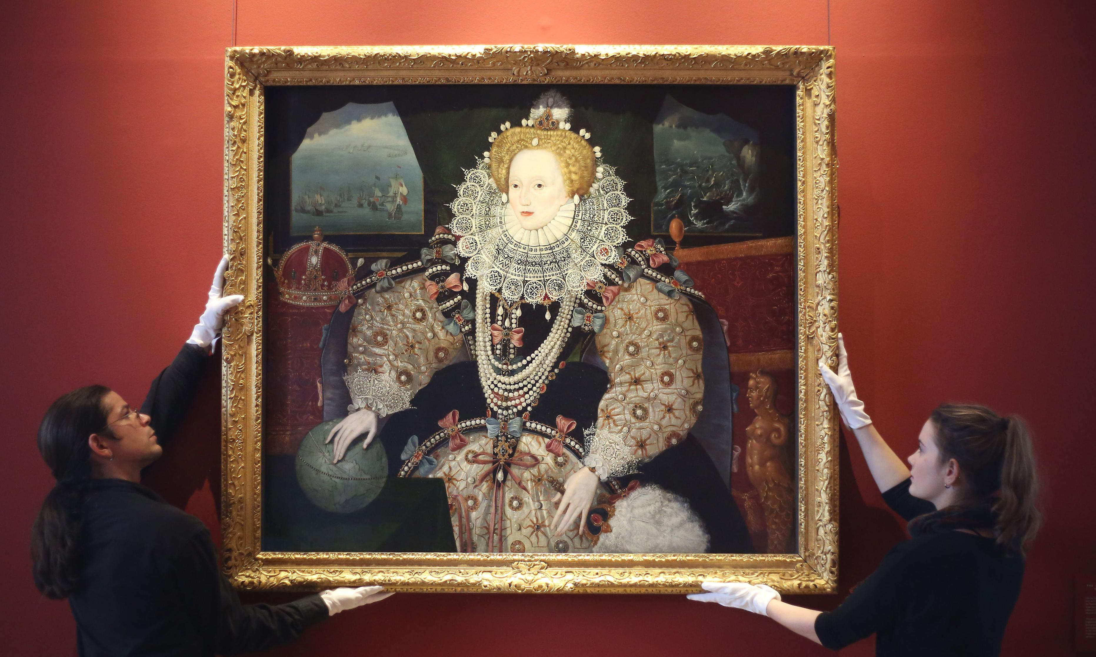 Armada portraits of Elizabeth I on show together for first time