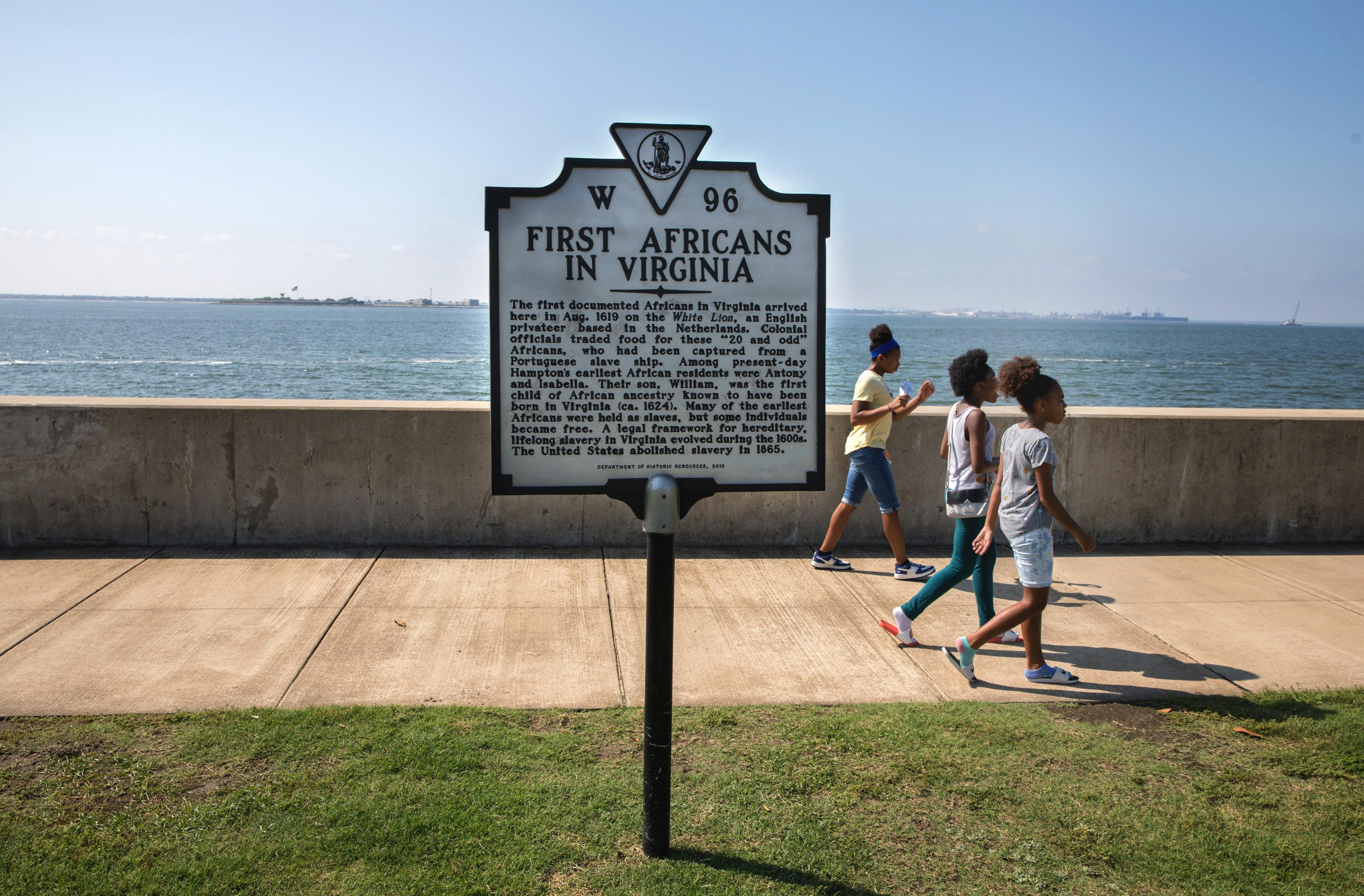 Point Comfort: where slavery in America began 400 years ago