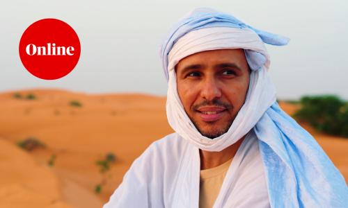 Mohamedou Ould Salahi in My Brother's Keeper, a Guardian Documentary directed by Laurence Topham
