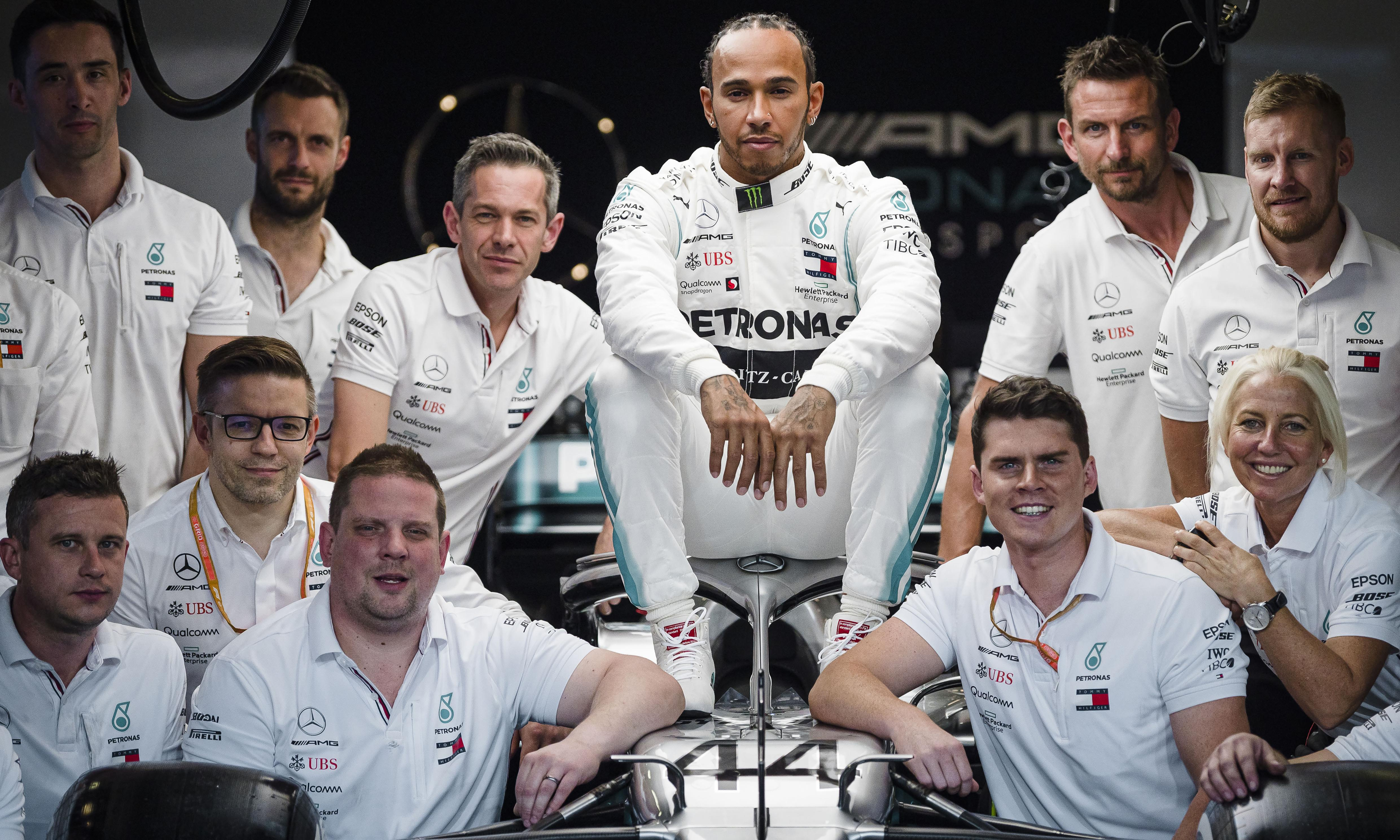Lewis Hamilton is not only a peerless champion, he is the face of F1