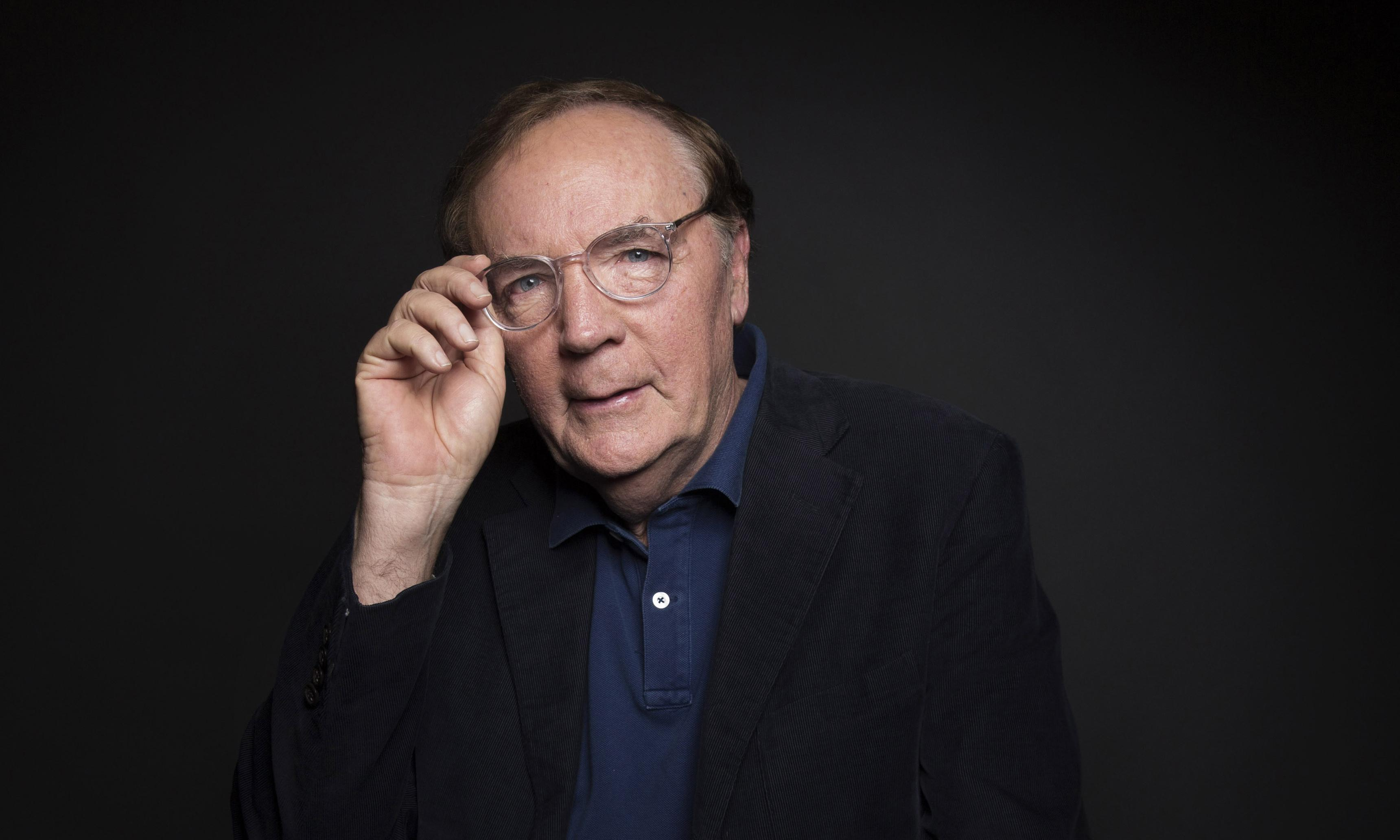 James Patterson says saving libraries is down to readers