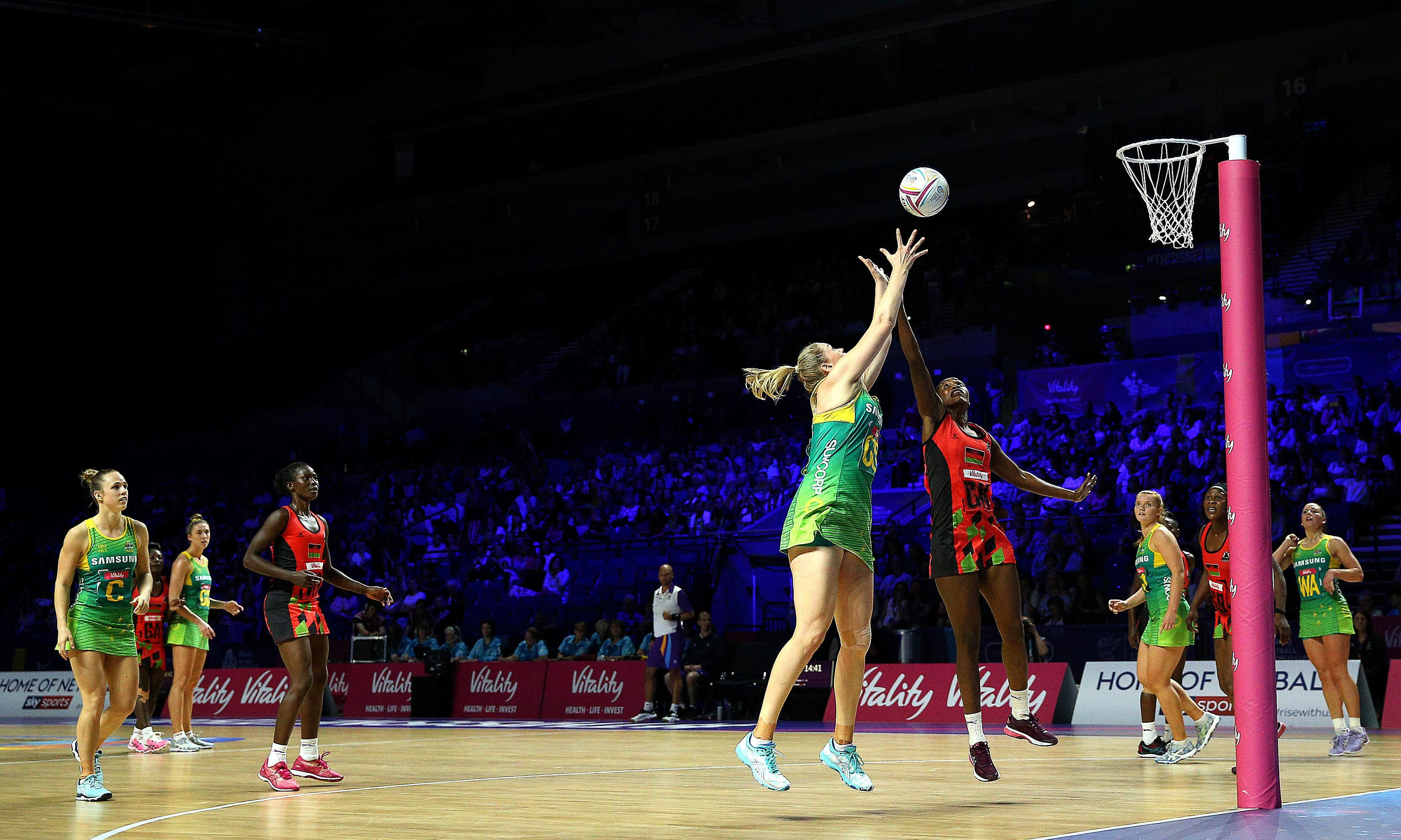 Australia pass Malawi test with flying colours at Netball World Cup
