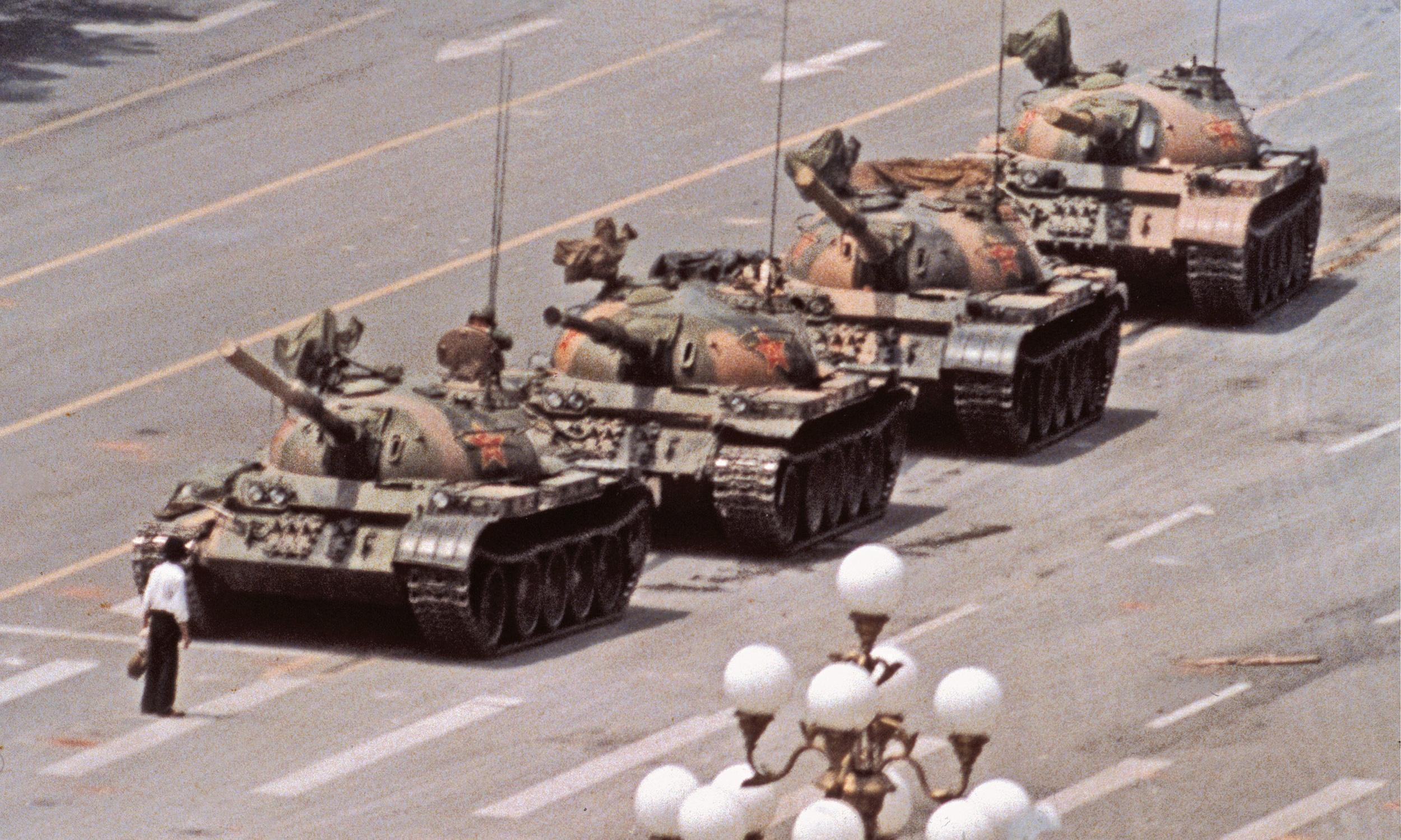 Thirty years on, the Tiananmen Square image that shocked the world