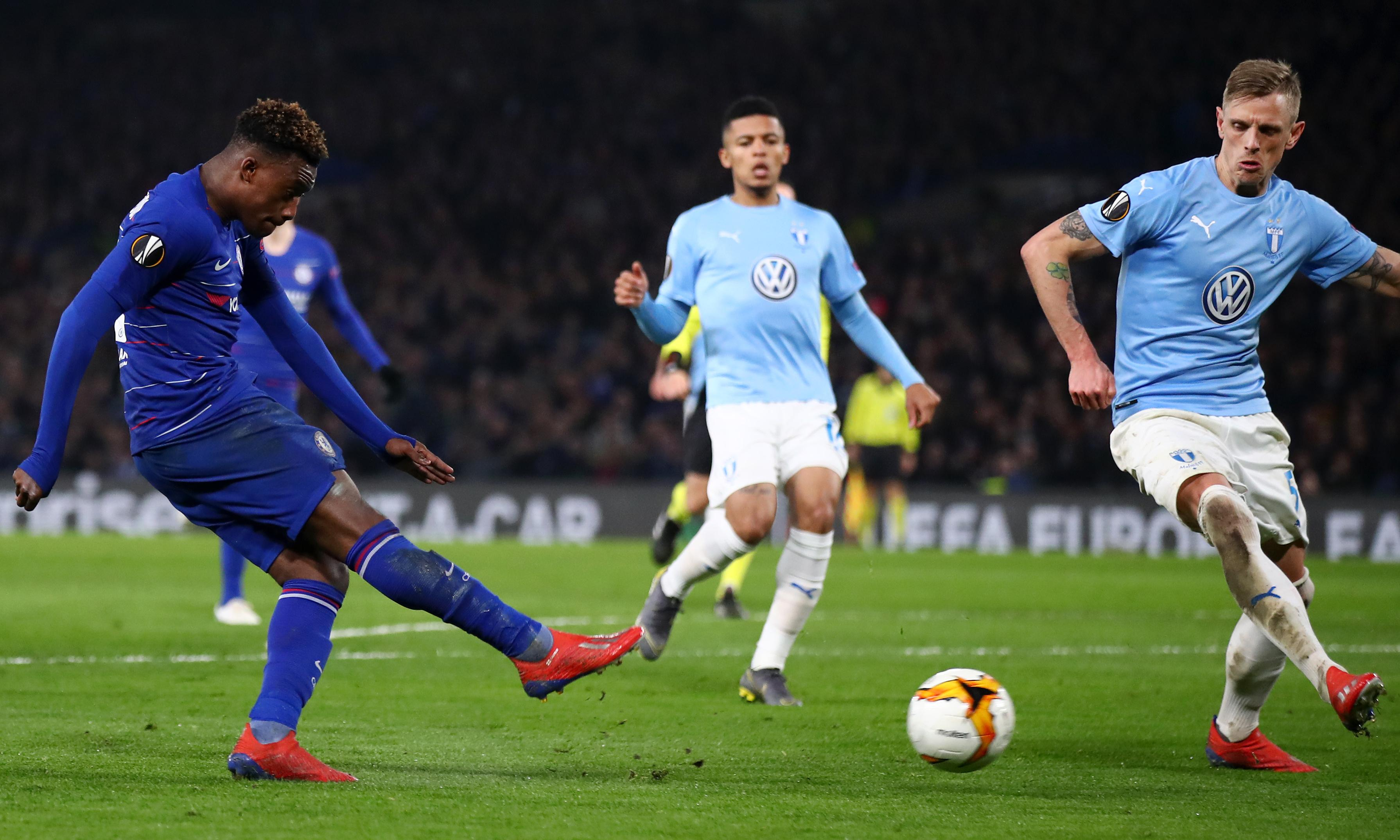 Callum Hudson-Odoi seals comfortable win for Chelsea over Malmö