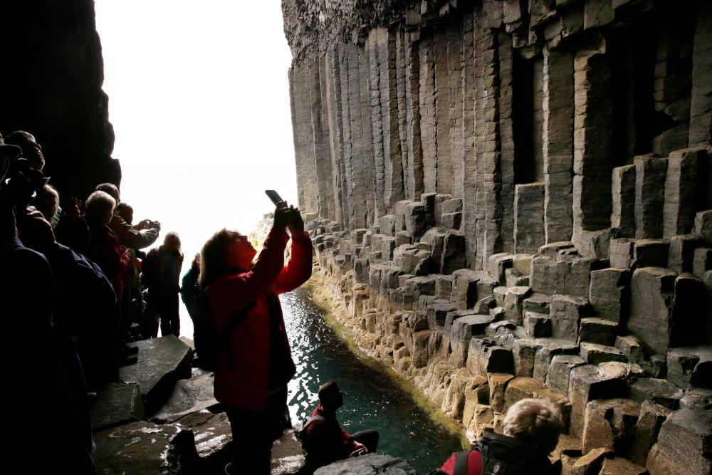 Fingal's Cave, Scotland.