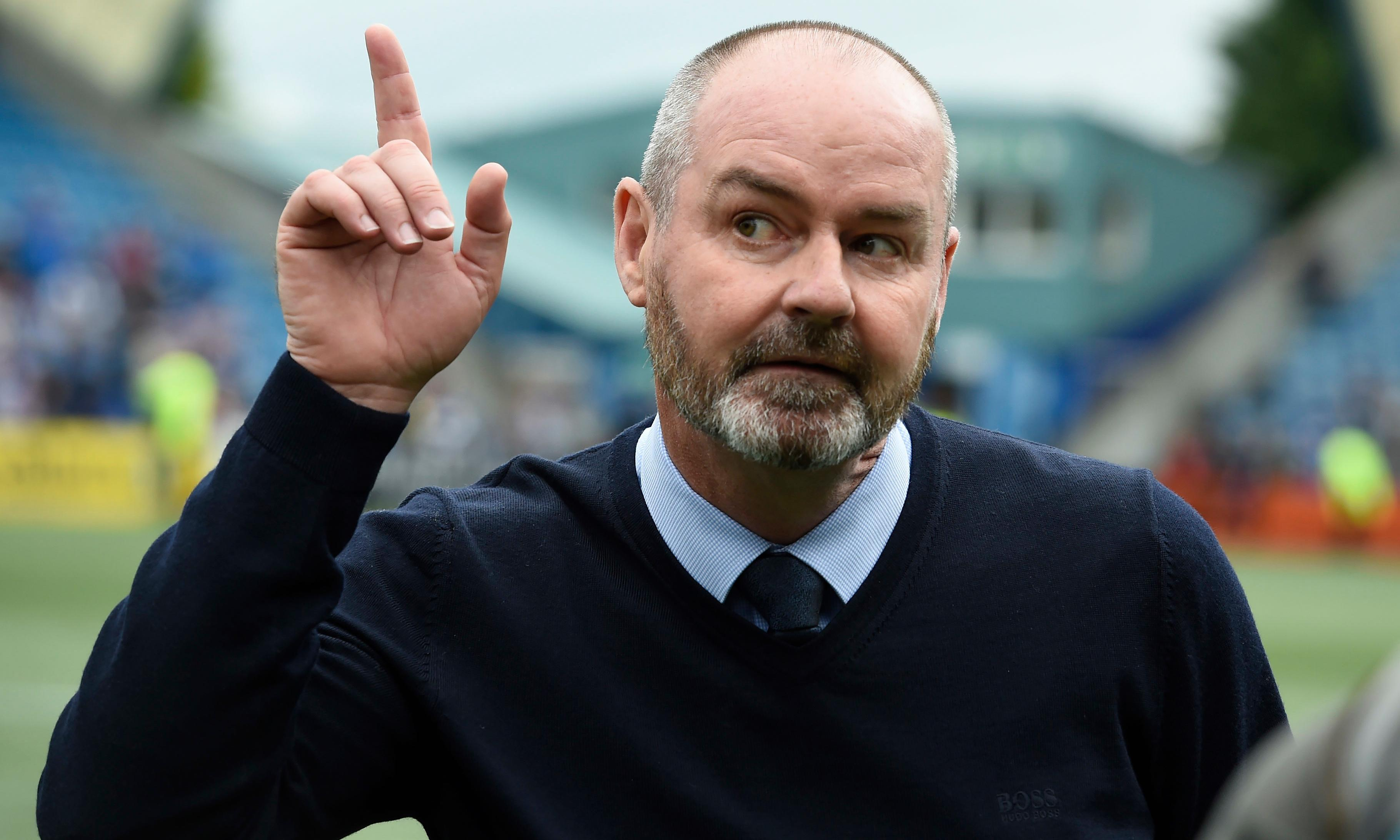 Steve Clarke appointed Scotland manager on three-year deal