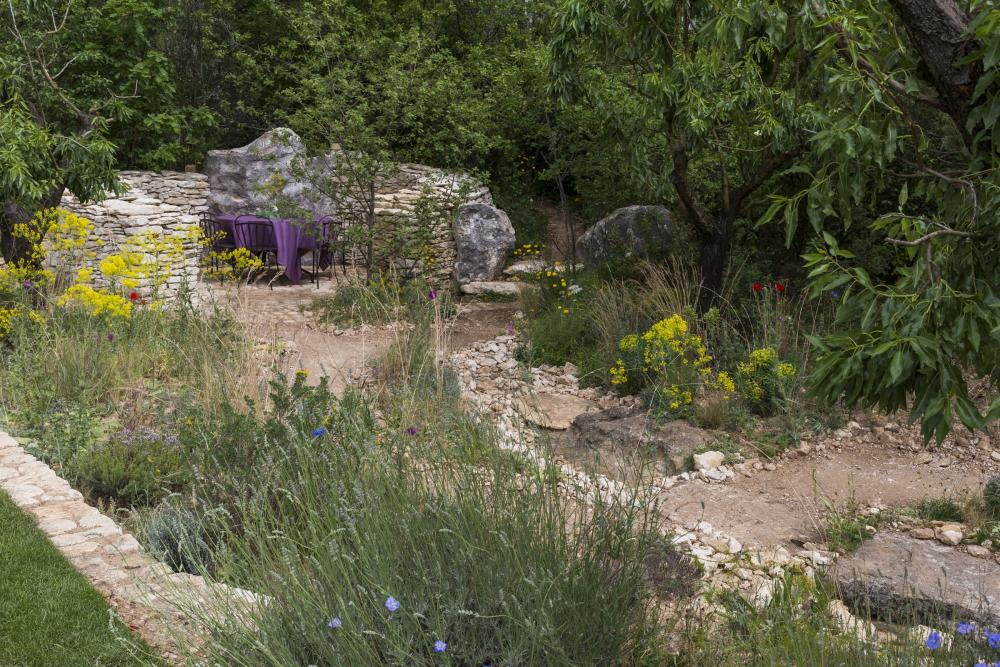 L''Occitane Garden, designed by James Basson