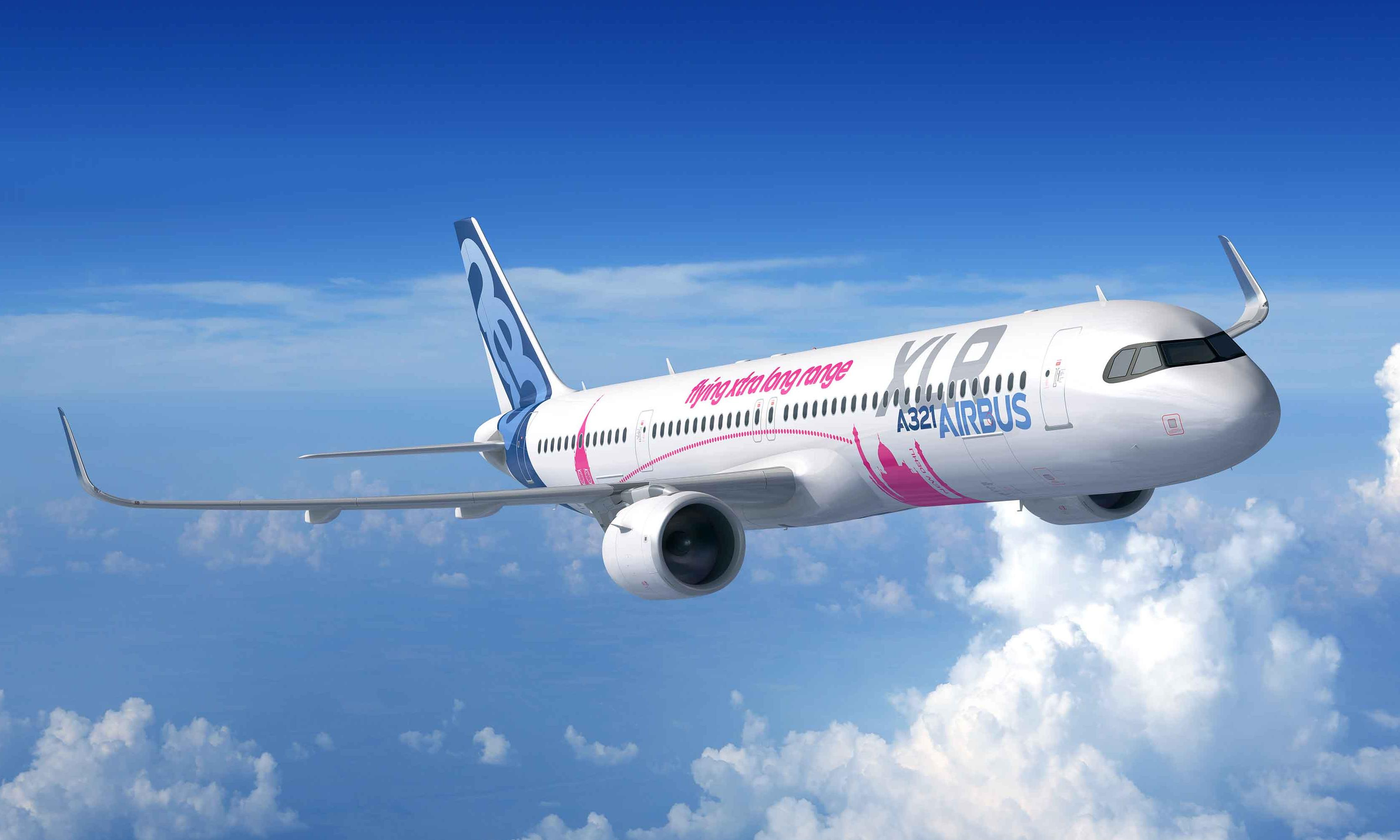 Airbus unveils new jet at Paris airshow and $15bn worth of orders