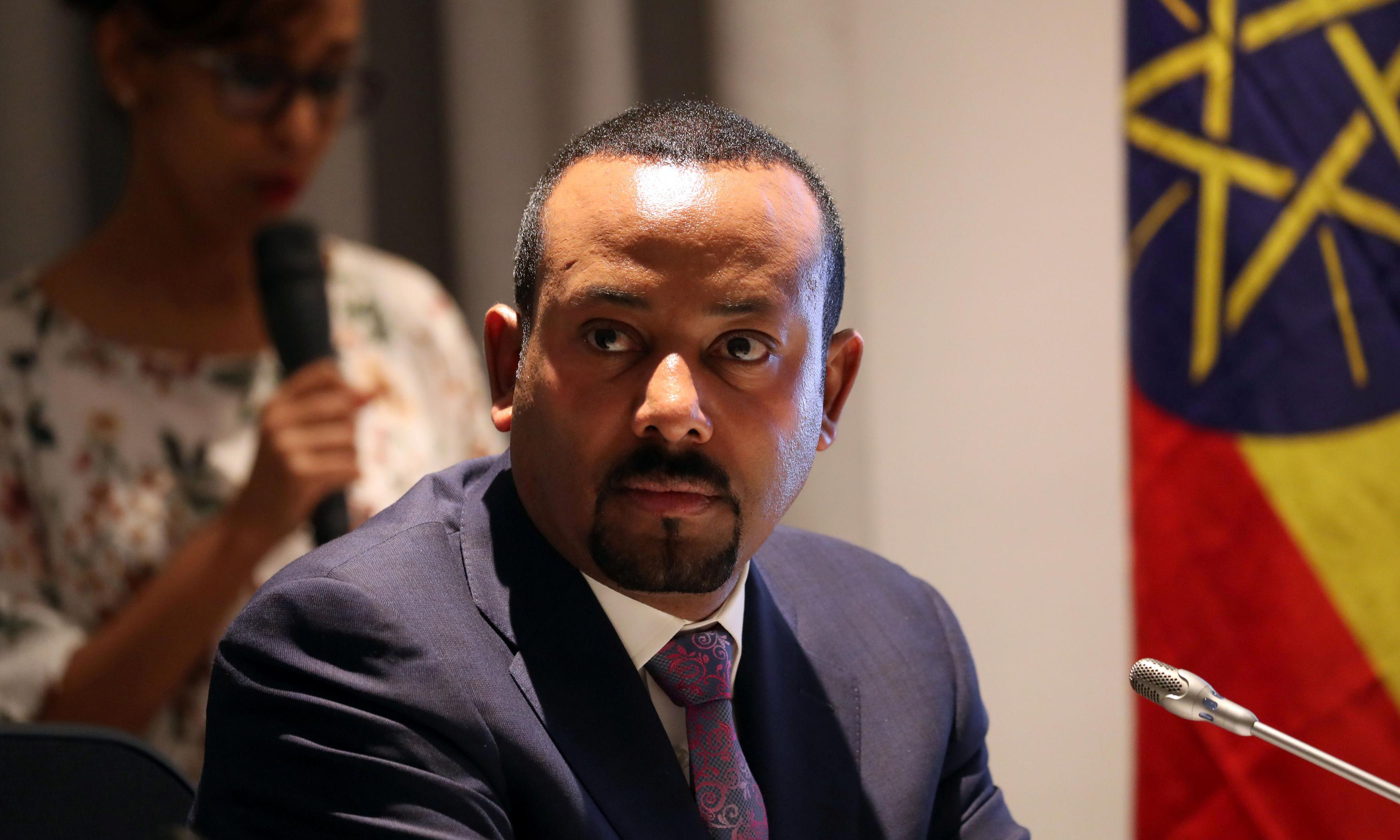 Nobel peace prize winner Abiy Ahmed embroiled in media row