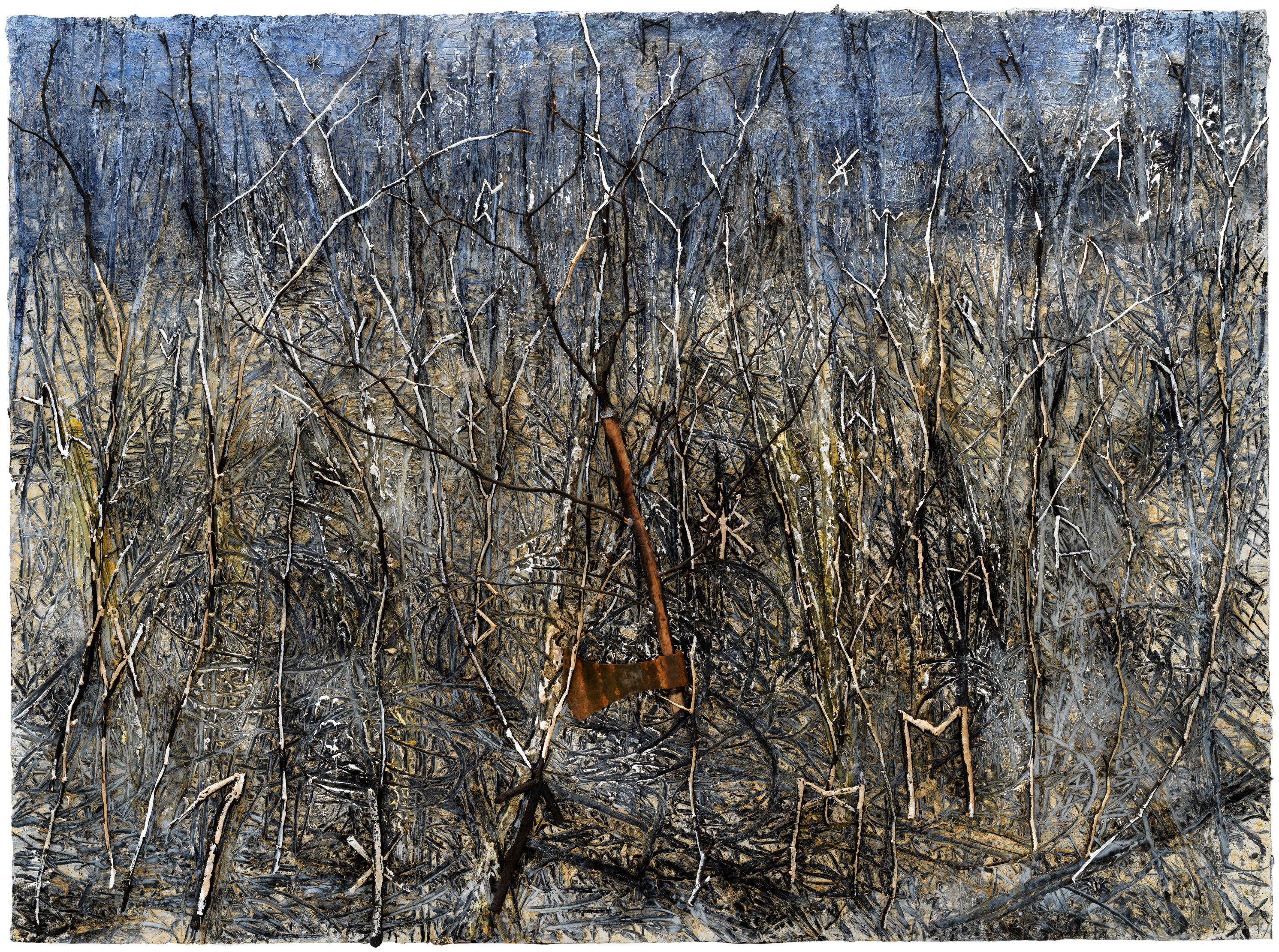 Anselm Kiefer review – terrifying odyssey through a cursed world