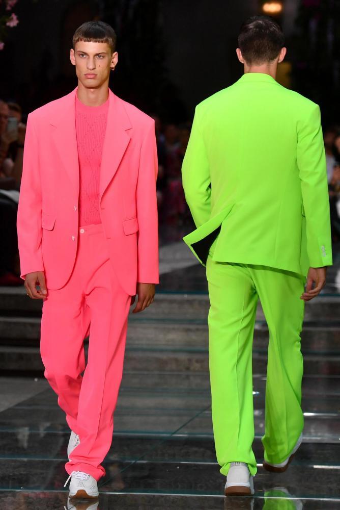 Versace runway, Milan.
