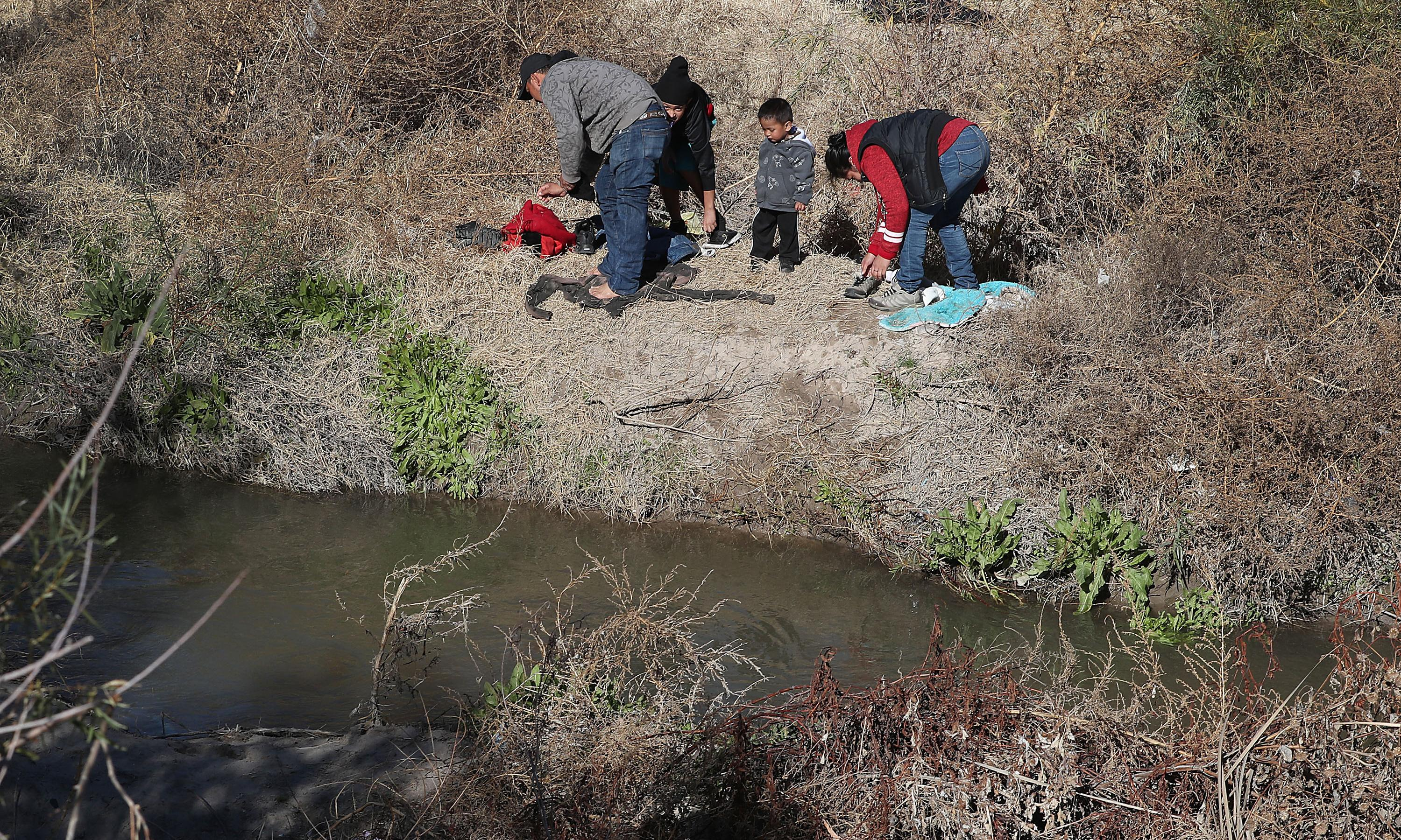 'The river is treacherous': the migrant tragedy one photo can't capture