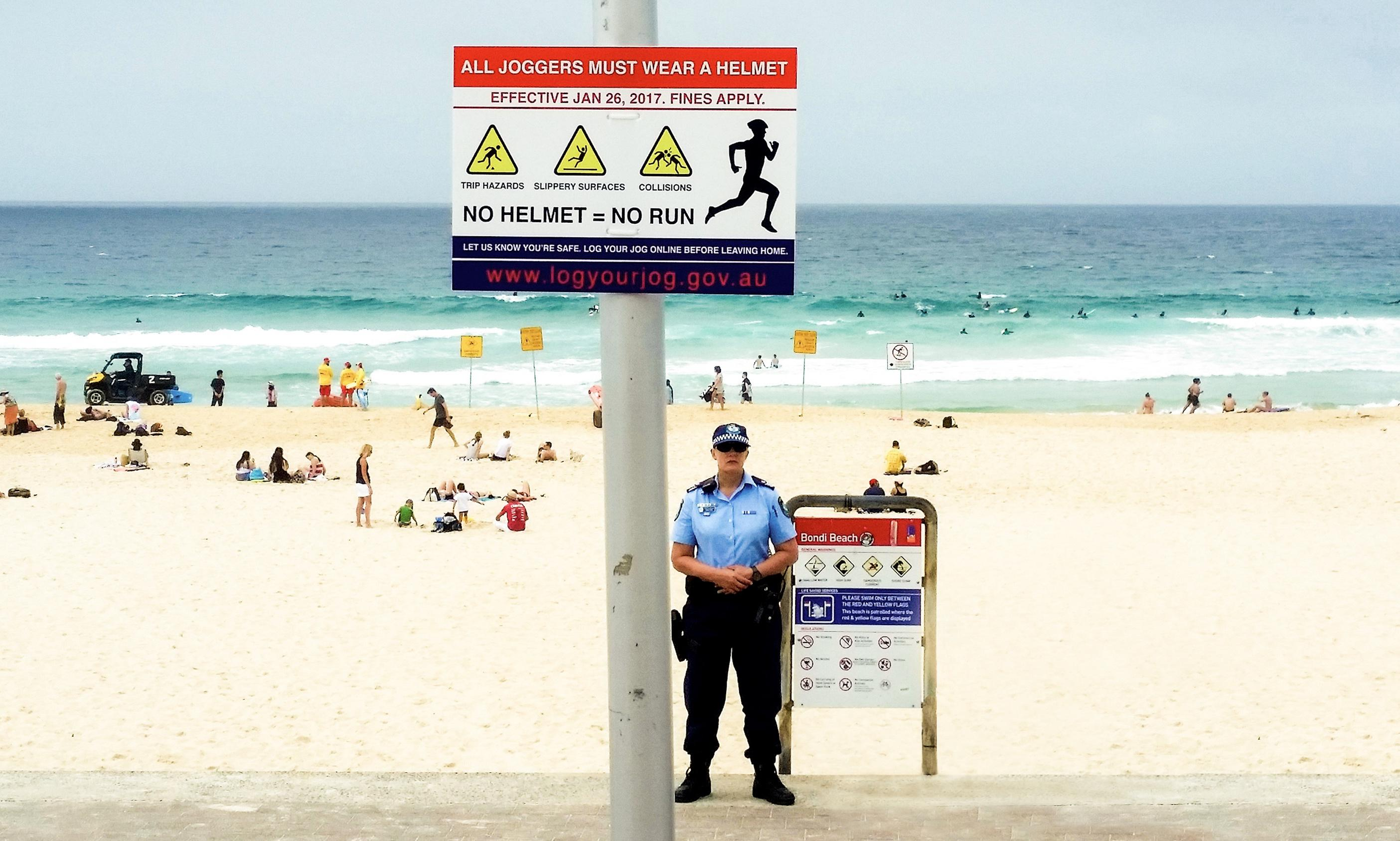 'It's telling that people are convinced they're real': the satirical signs of Sydney's 'nanny state'