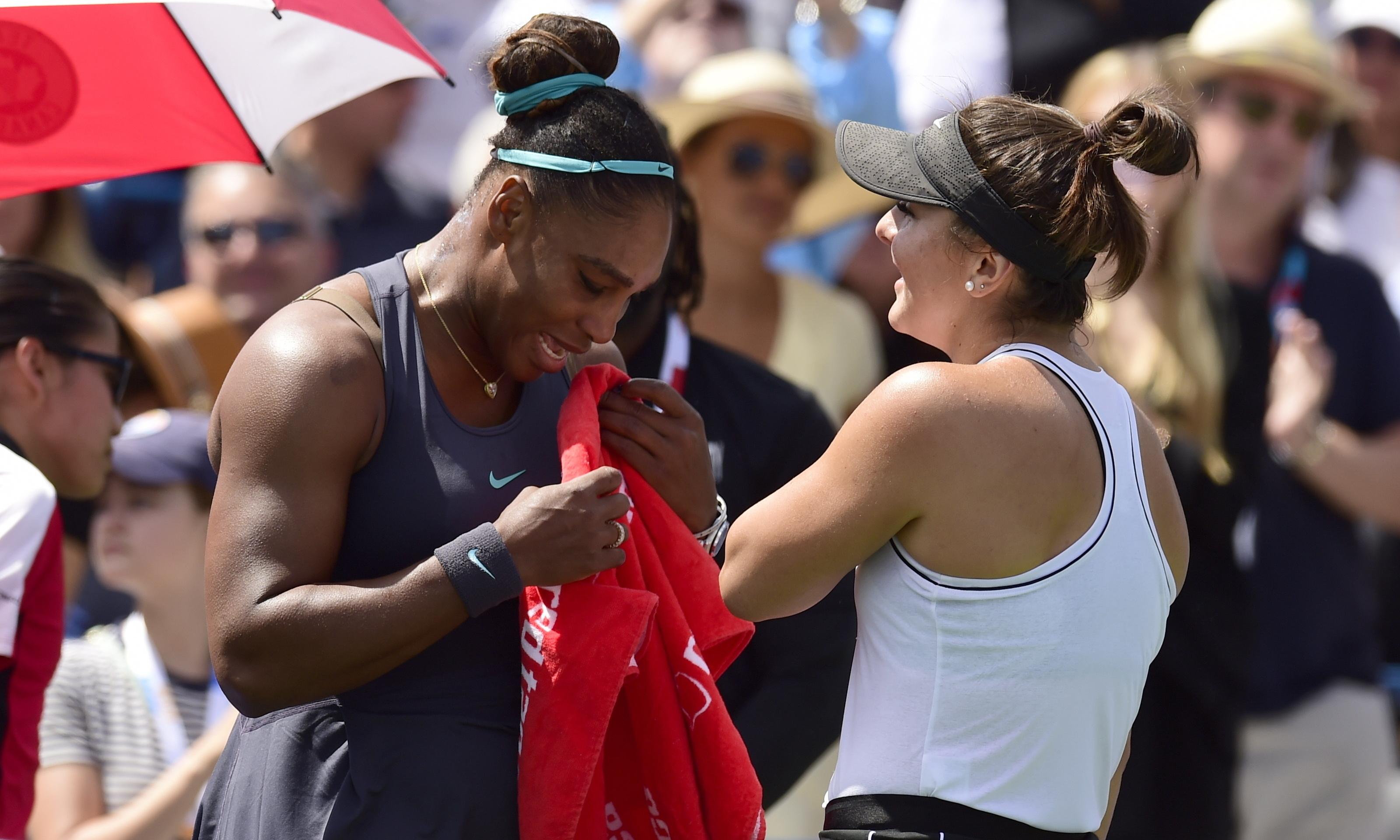 Andreescu and Nadal win Rogers Cup titles as tearful Serena Williams retires hurt