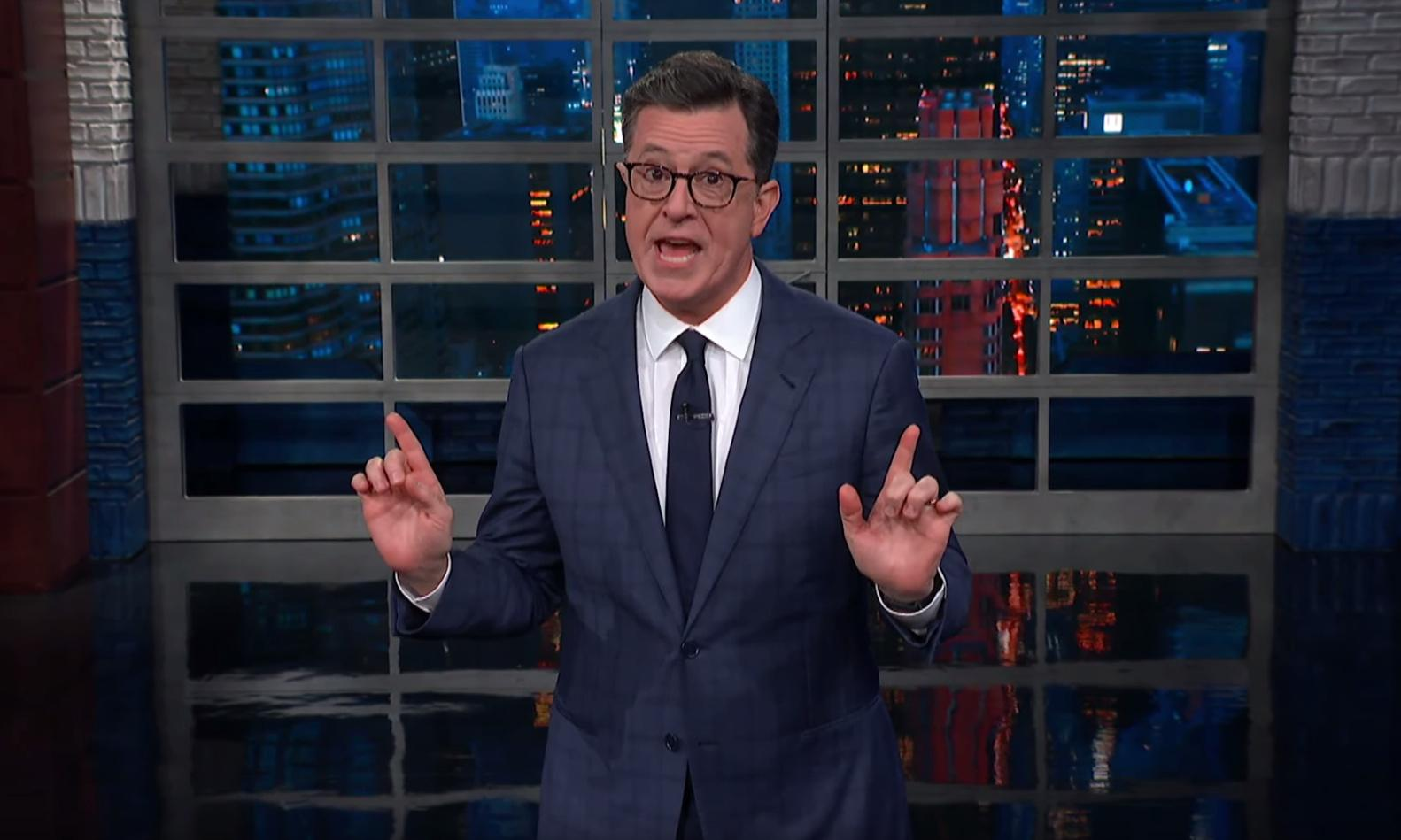 Stephen Colbert on Ben Carson: 'Not a rocket scientist, only a brain surgeon'
