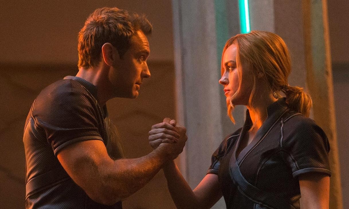 Captain Marvel lords it over Us at UK box office