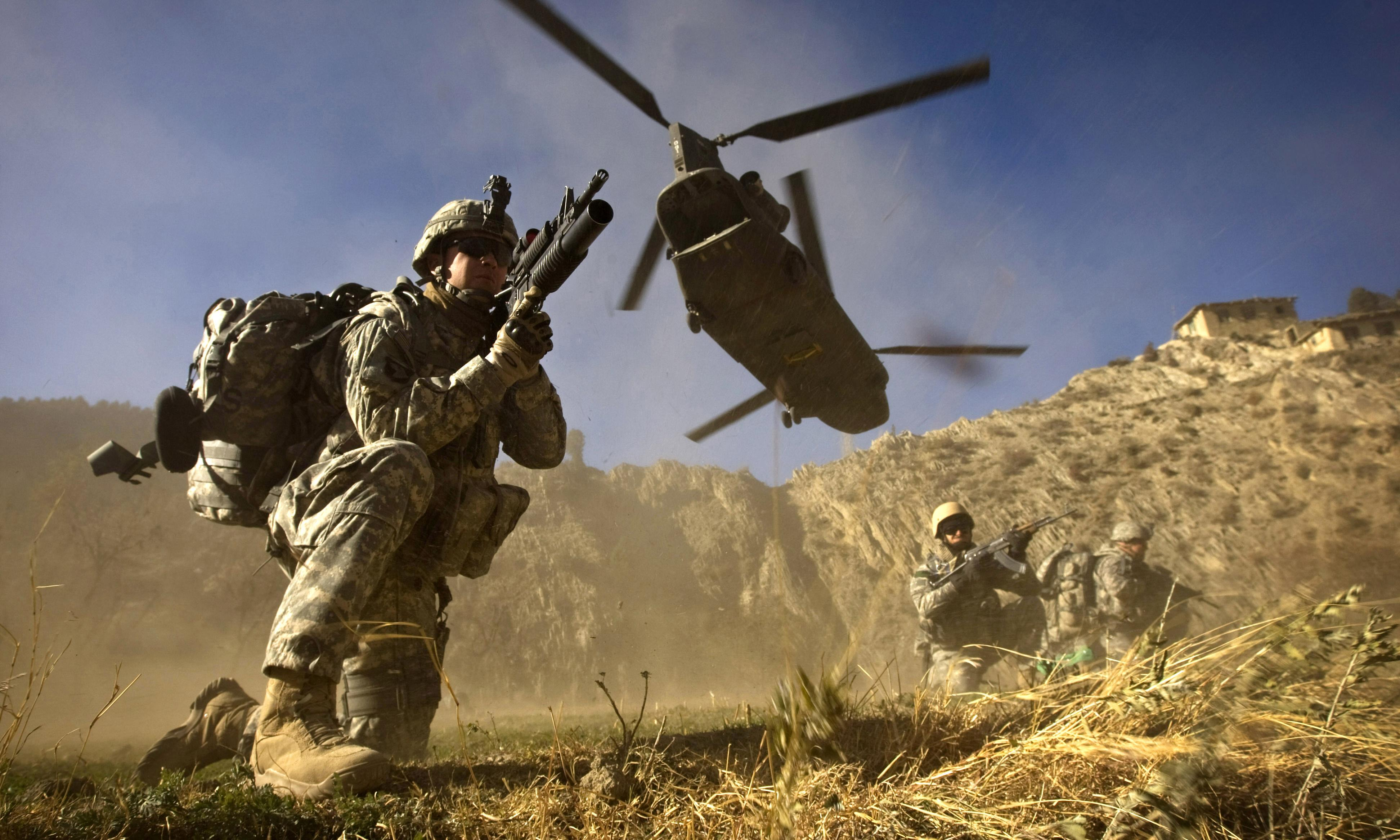Afghanistan papers reveal US public were misled about unwinnable war