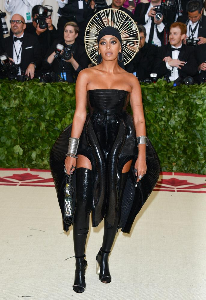 Solange Knowles in Iris Van Herpen.