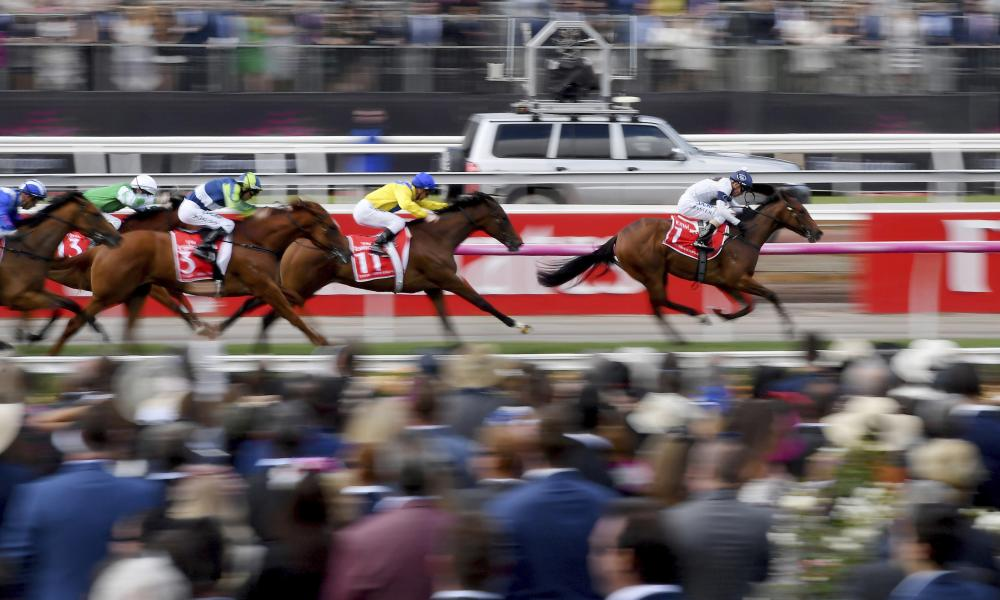 10,000 fully vaccinated spectators will be allowed at this year's Melbourne Cup, the Victorian premier Daniel Andrews announced on Sunday as the state recorded 1,890 new Covid cases and five deaths.