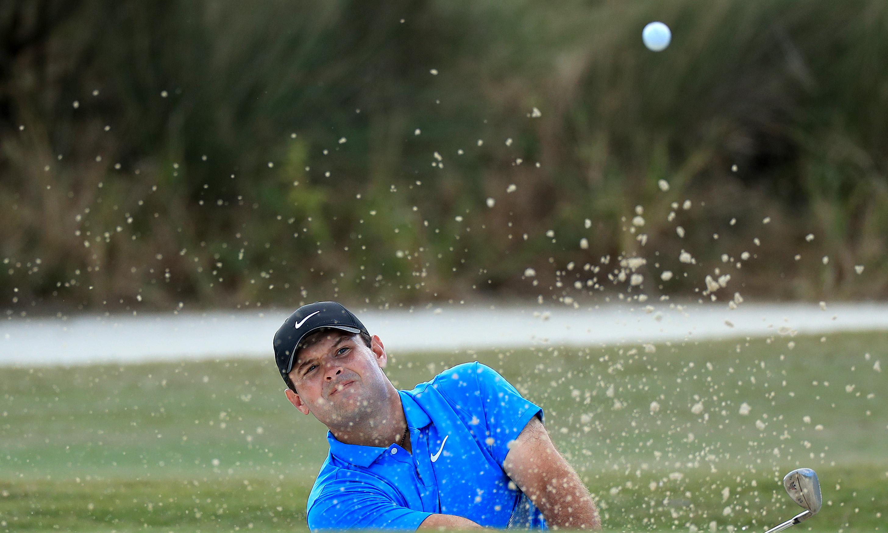 Patrick Reed 'was building sandcastles' at Bahamas event, says Koepka