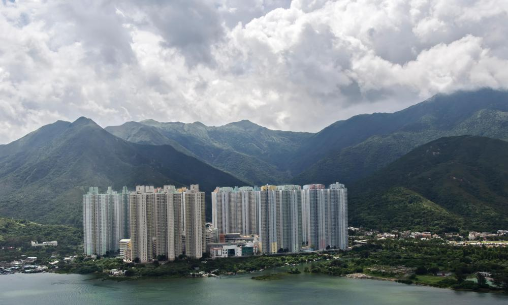 Lantau island. The plan is to build islands in the city's central waters between Lantau and Hong Kong island