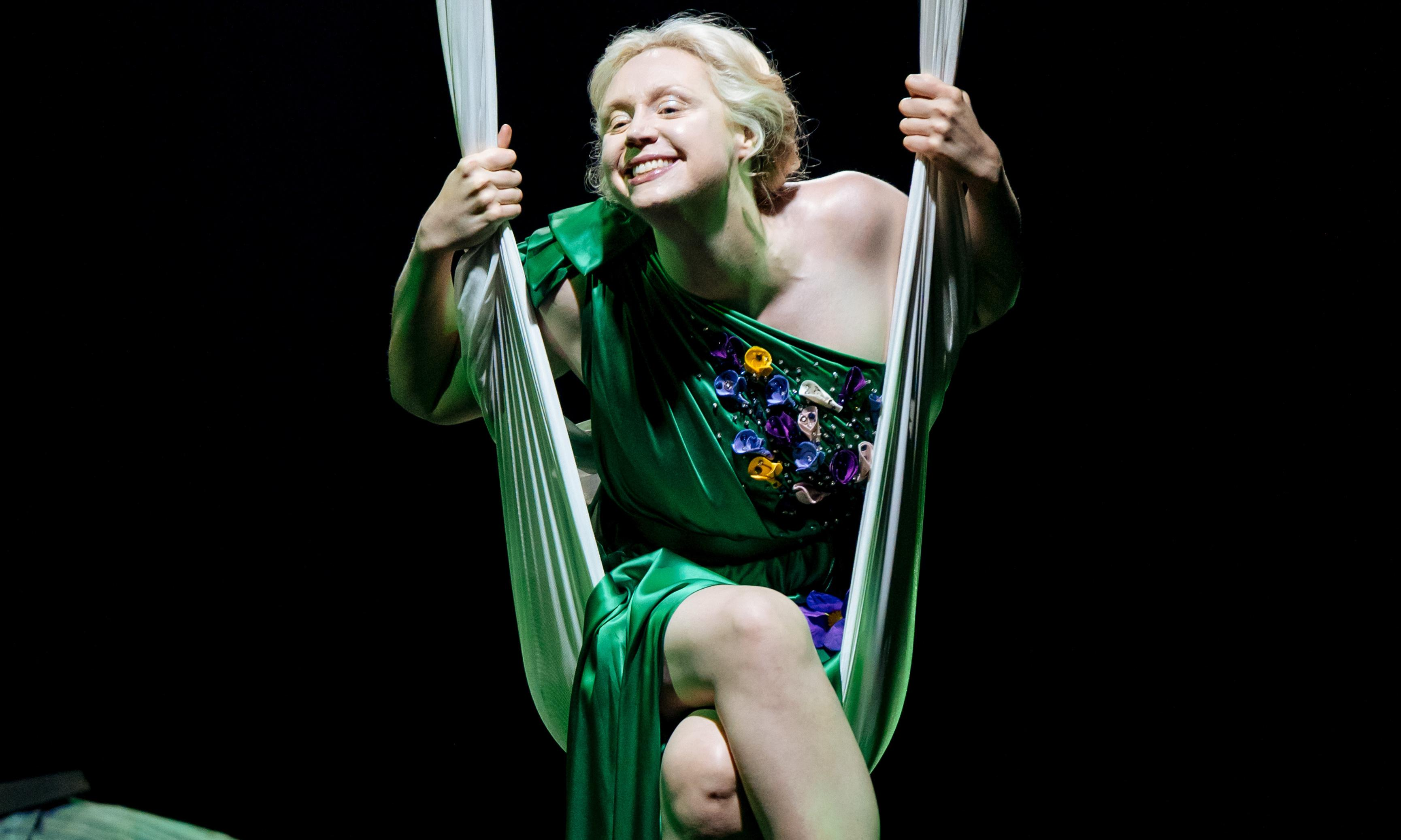 A Midsummer Night's Dream review – join the fiesta with Gwendoline Christie